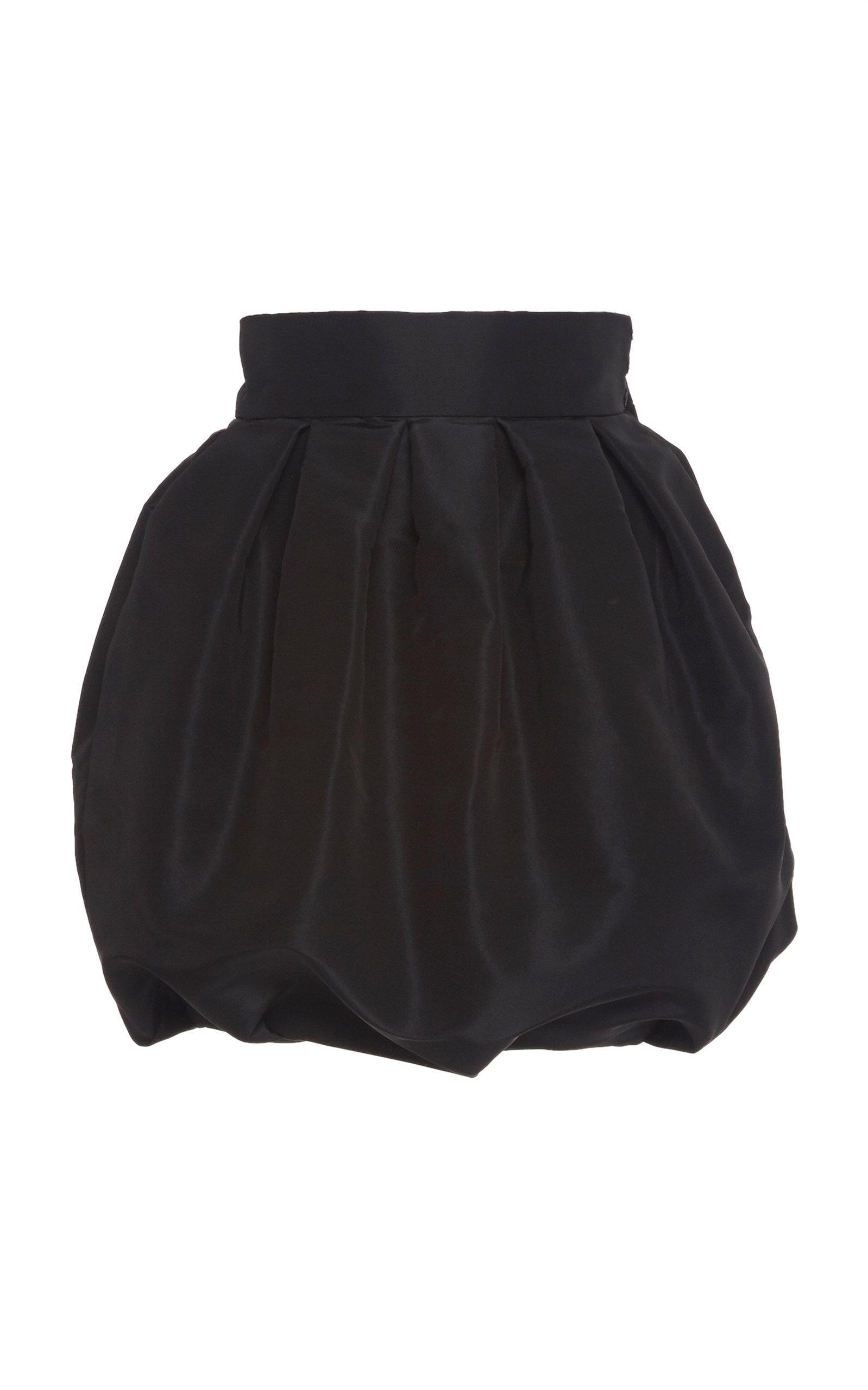 86d4ae7b Alexandre Vauthier Faille Bubble Skirt in Black - Lyst