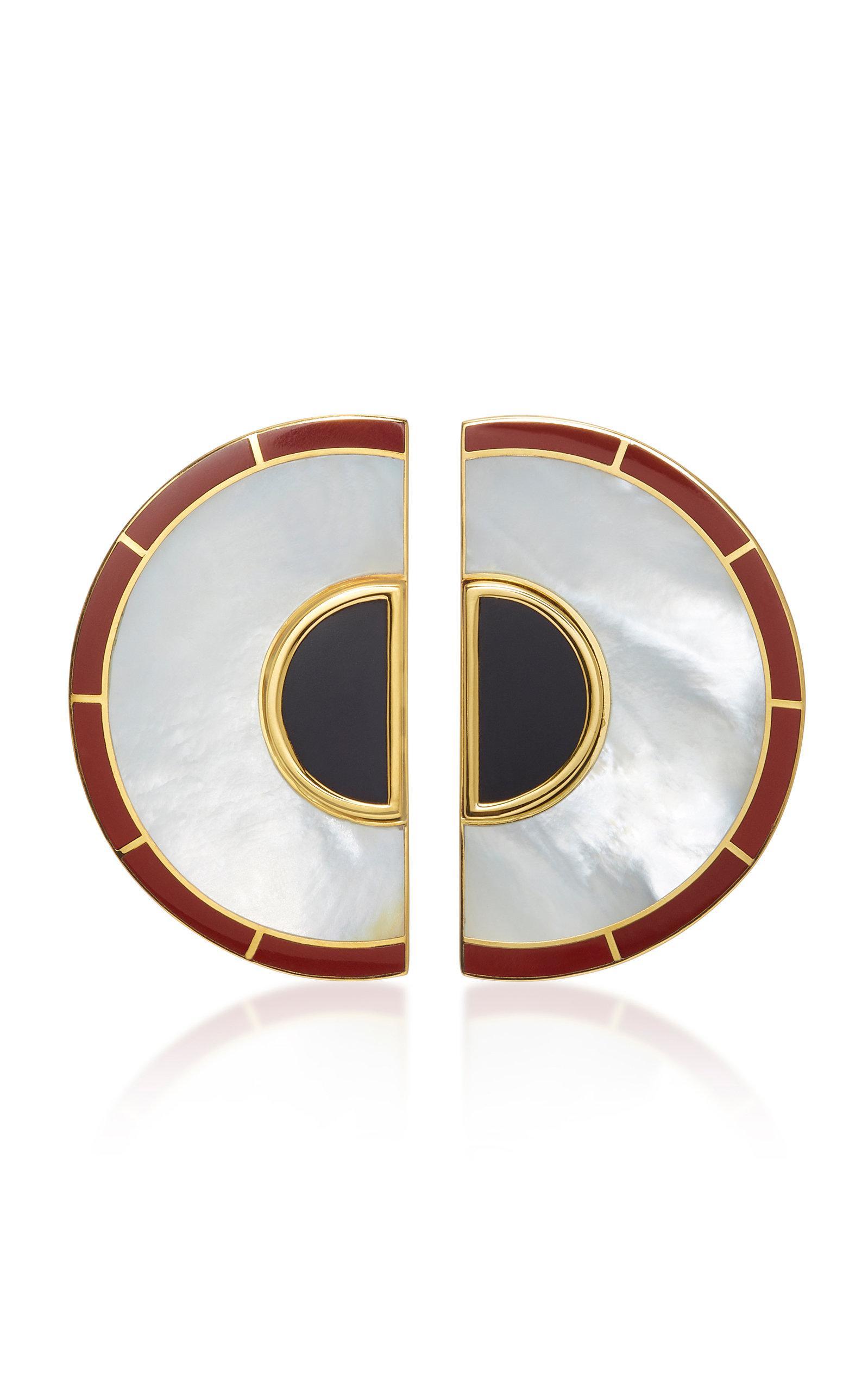 Brujo Demi-boucles D'oreilles En Orbite Monica Sordo Z1wClG
