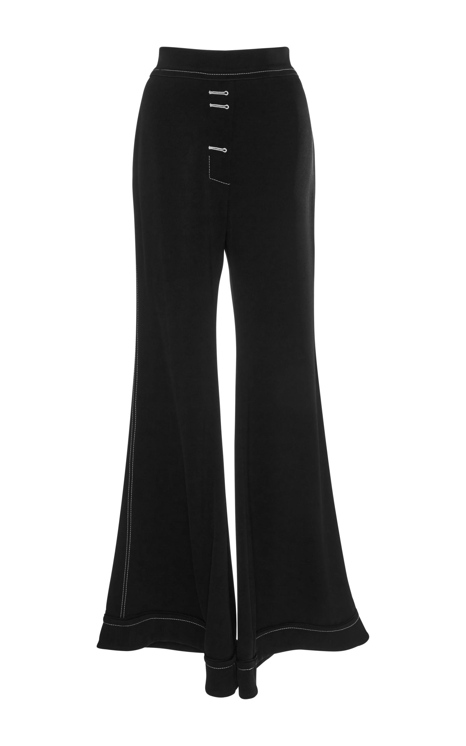 Lyst ellery 13th floor wide leg flare trouser in black for 13th floor pitch black