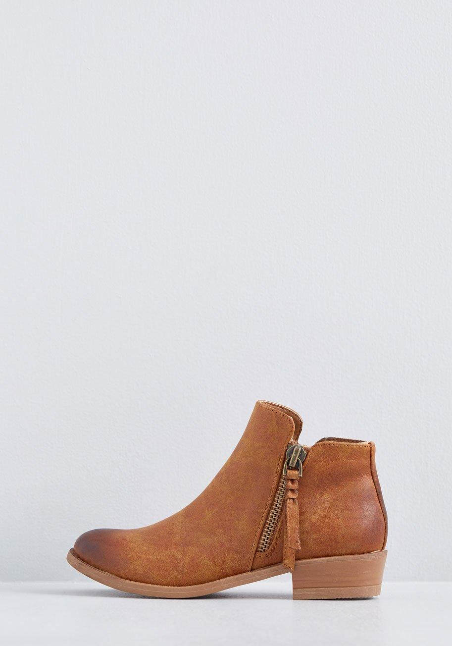 157e89ed8864 ... Trusted Strut Ankle Bootie - Lyst. View fullscreen