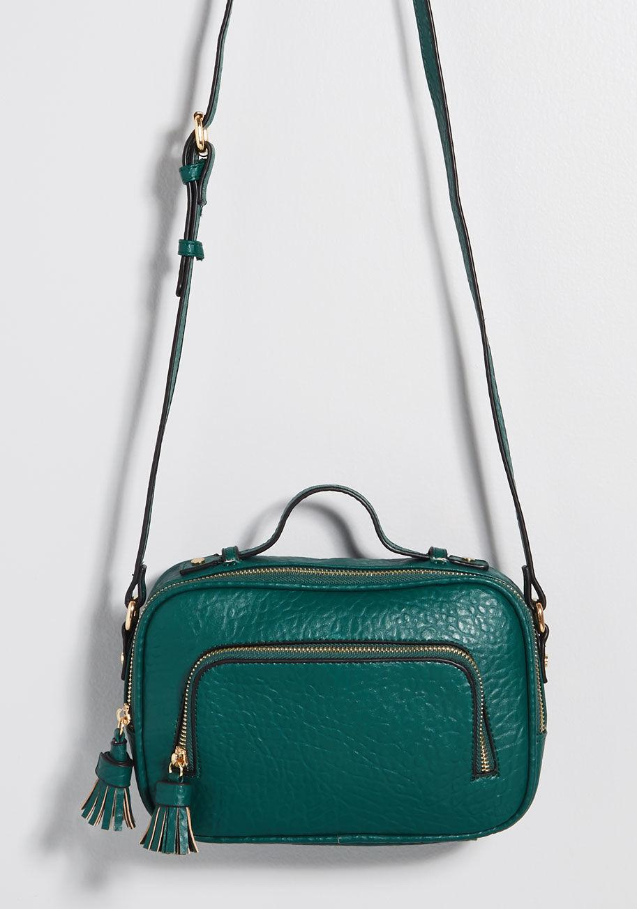 1267fe515a5 Lyst - Modcloth Mentioned Essential Crossbody Bag in Green
