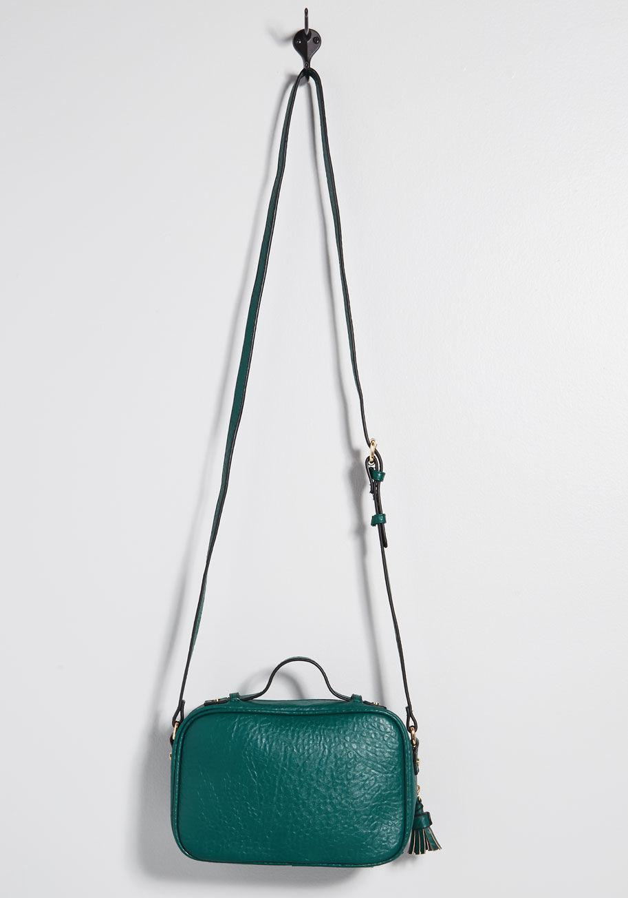 85f5387ab4e ModCloth - Green Mentioned Essential Crossbody Bag - Lyst. View fullscreen