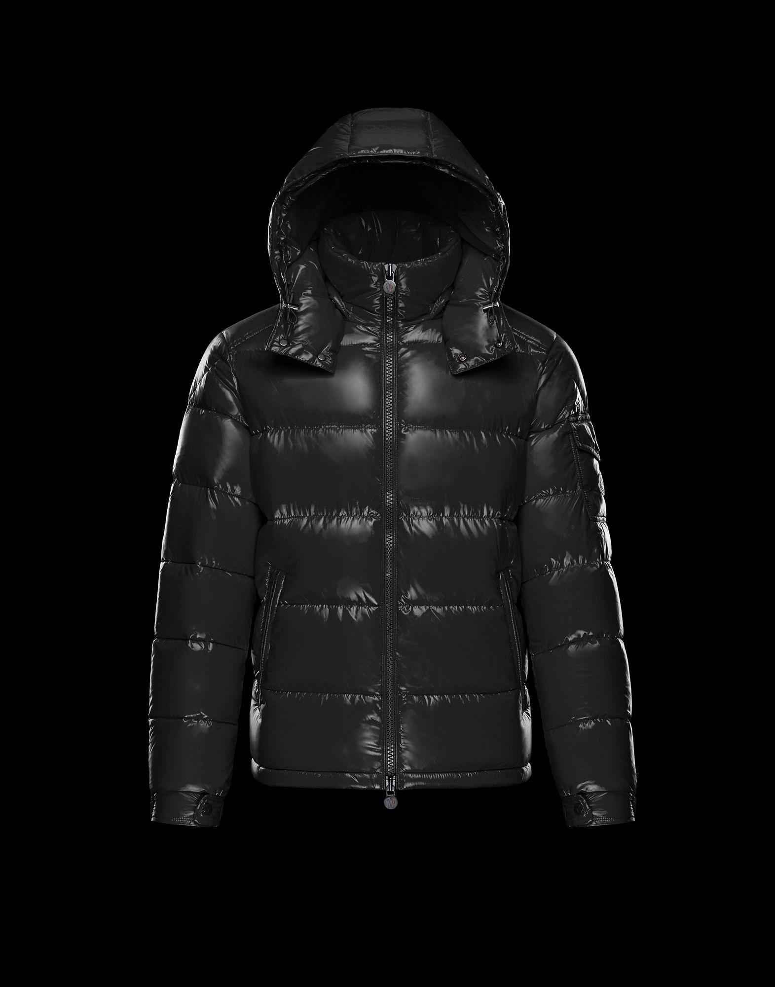 6b5b89f0b6d9 Moncler Maya in Black for Men - Lyst