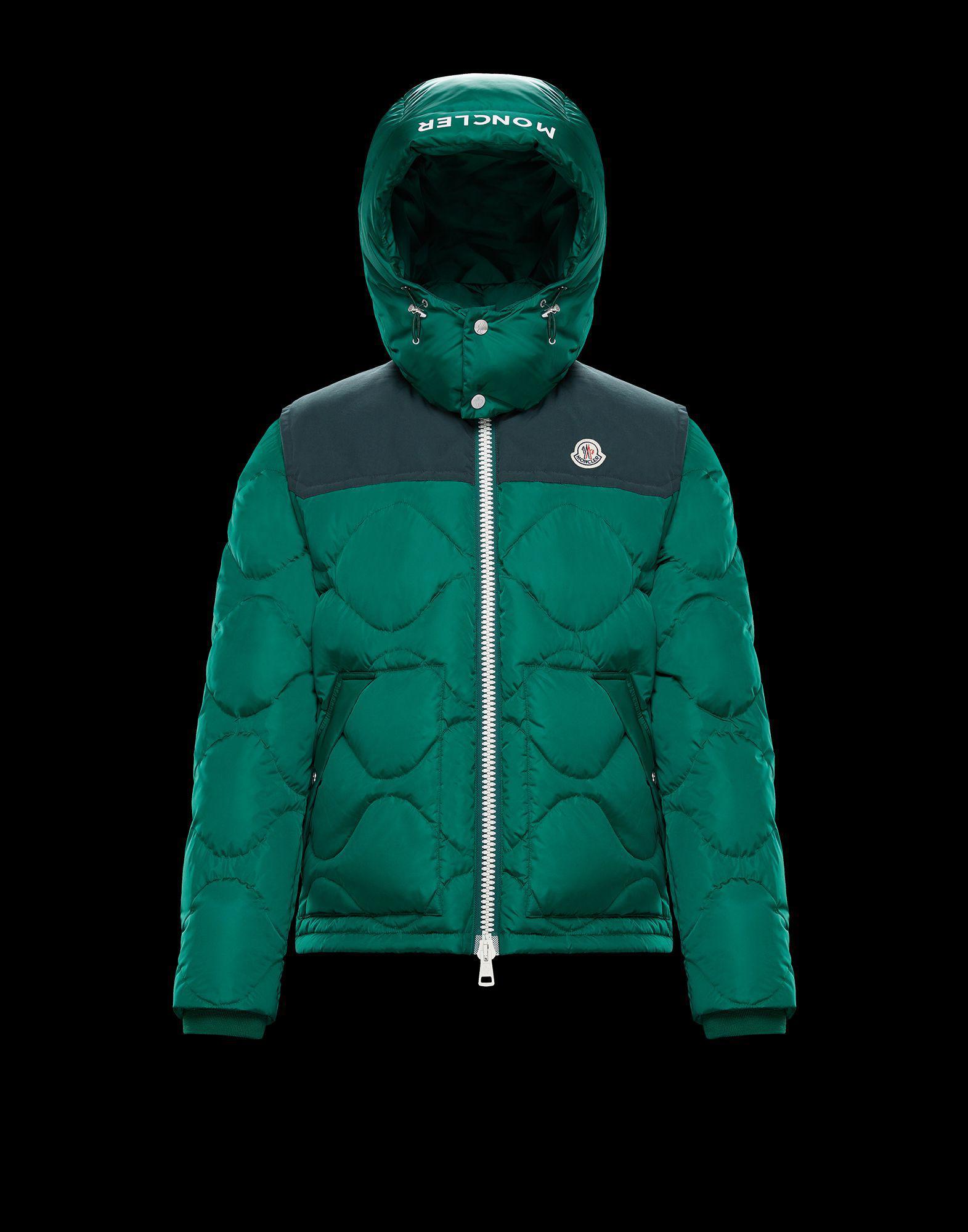 f6af9147d291 Lyst - Moncler Arles in Green for Men