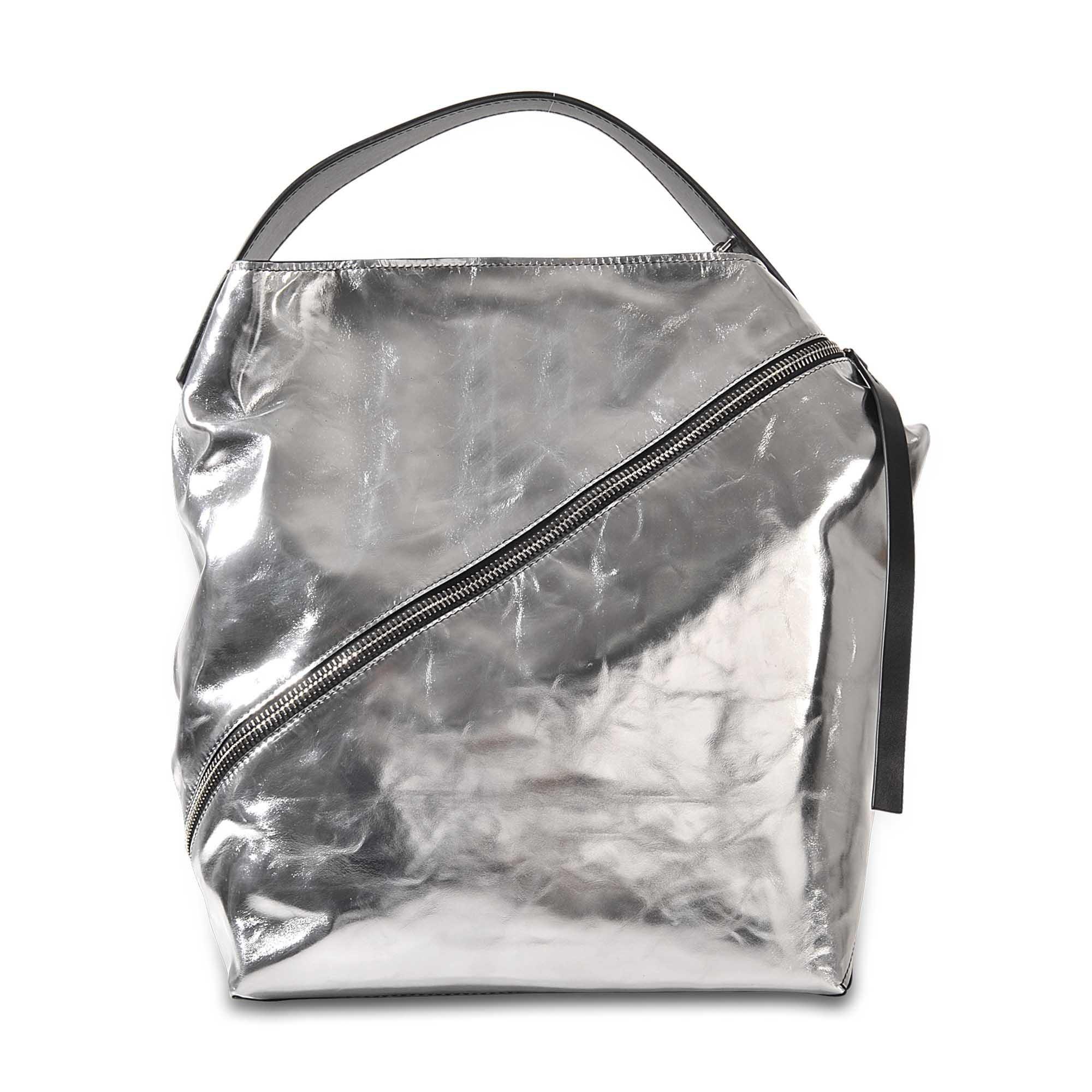 Lyst - Proenza Schouler Medium Hobo Soft Metallic Leather c57f8c8ee79e2