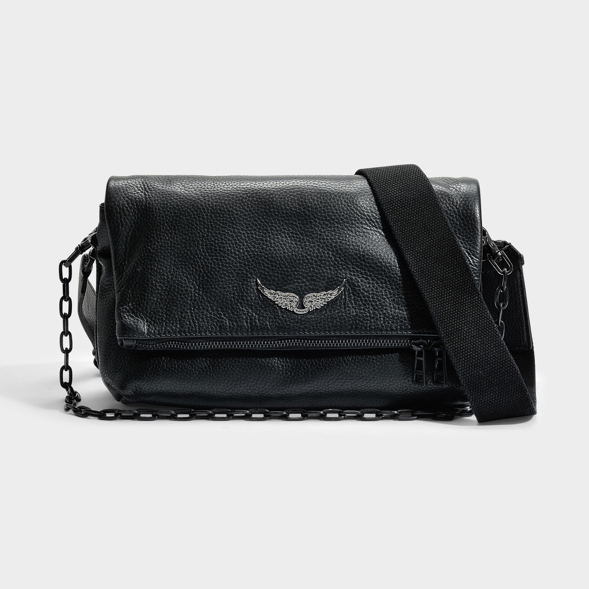 Rock Bag in Black Cow Leather Zadig & Voltaire HR2a9aI