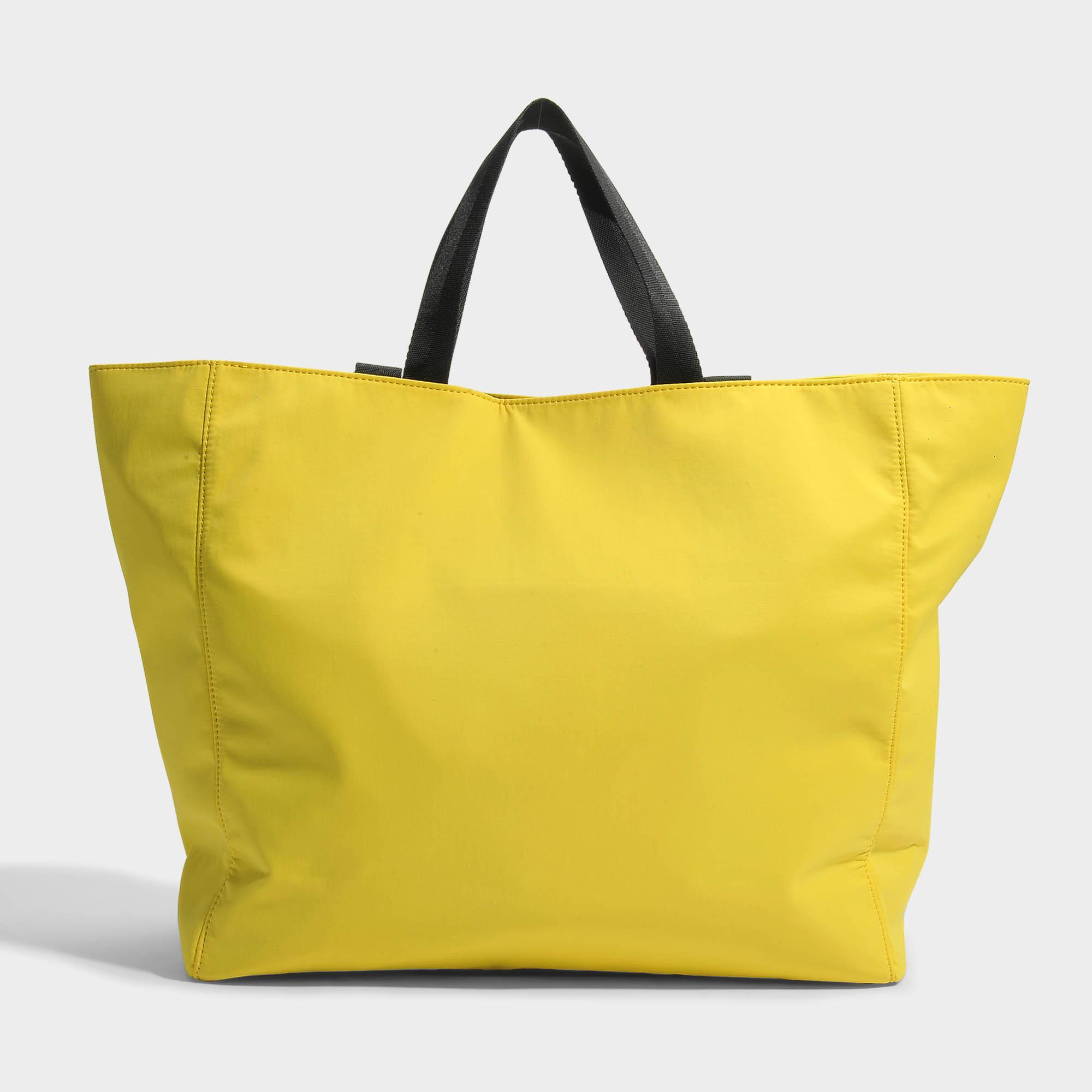 795c5e225 KENZO Sport Tote Bag In Citron Nylon in Yellow - Lyst