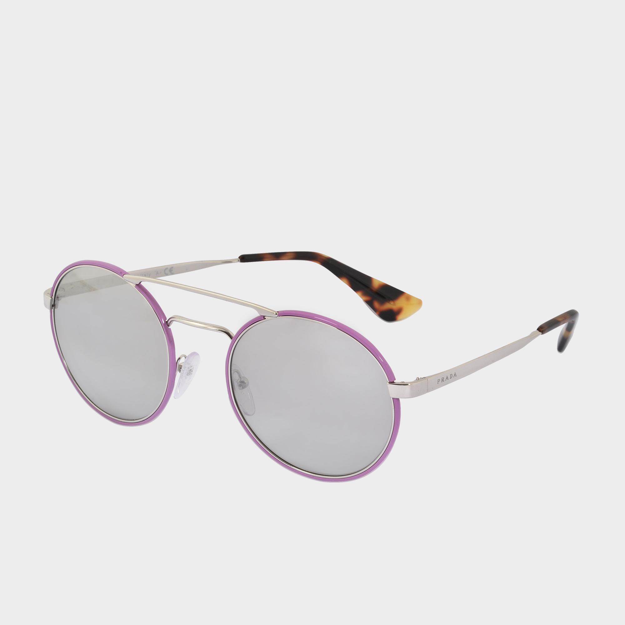 d6953e24394a Prada 0pr 51ss Sunglasses in Pink - Lyst