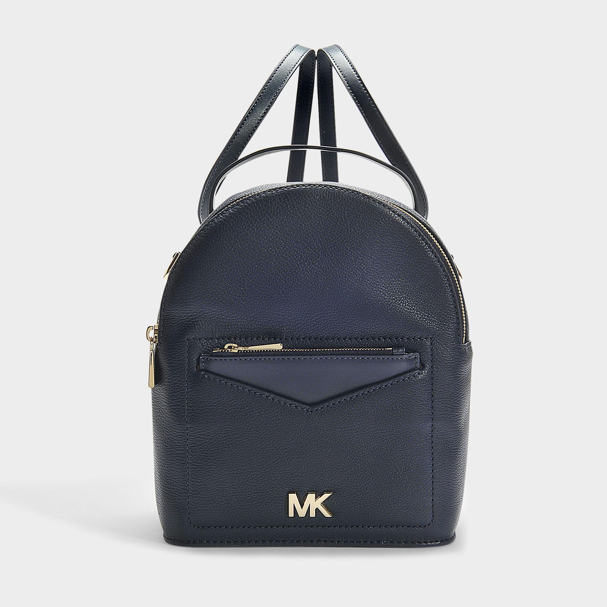 b5e63b1d029bb5 MICHAEL Michael Kors Jessa Small Convertible Backpack In Blue ...