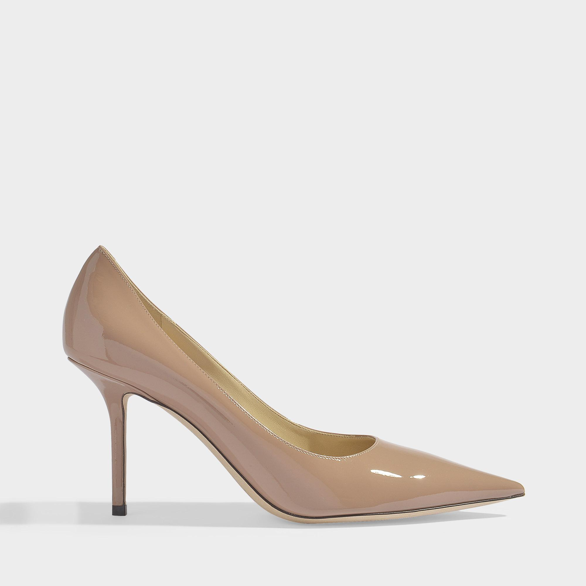 1b18a3d186b8 Jimmy Choo. Women s Love 85 Patent Pointed Pumps In Ballet Pink Patent  Leather