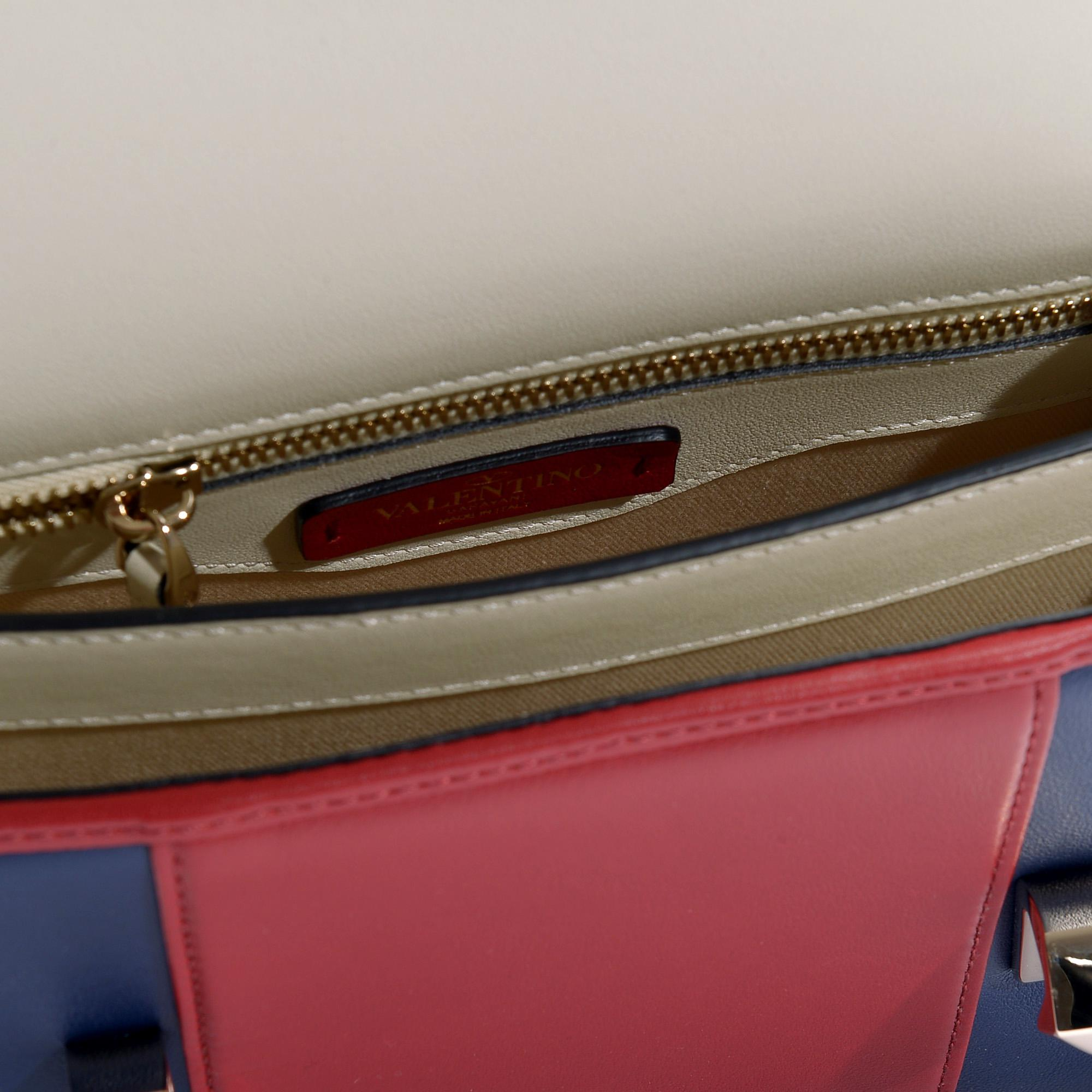 10c2bfefd8aa valentino-Multicoloured-Uptown-Small-Shoulder-Bag-In-Ivory-Red-And-Blue-Grained-Calfskin.jpeg