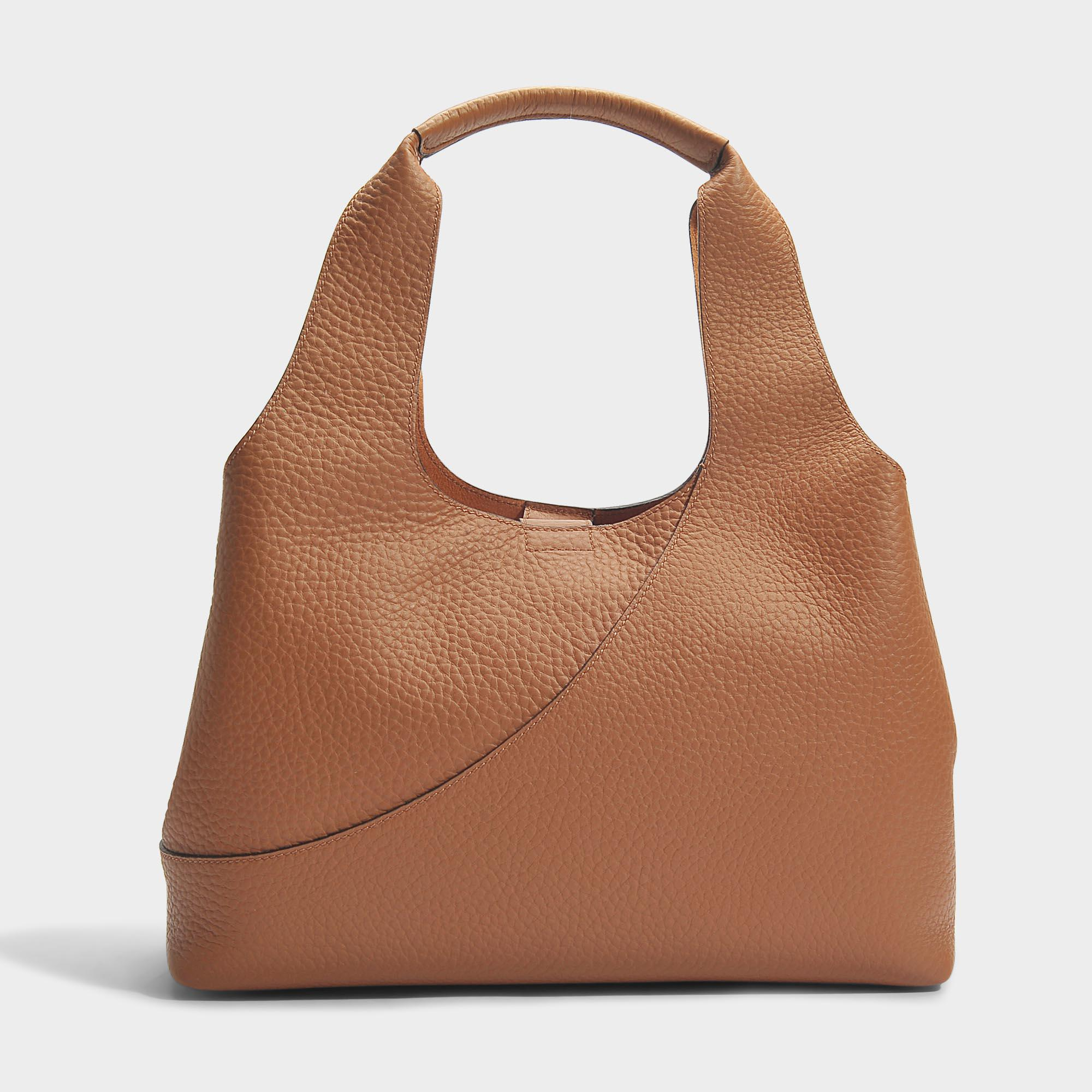 Horizontal Tote Bag in Multicolour Grained Leather Hogan EyHNuhE