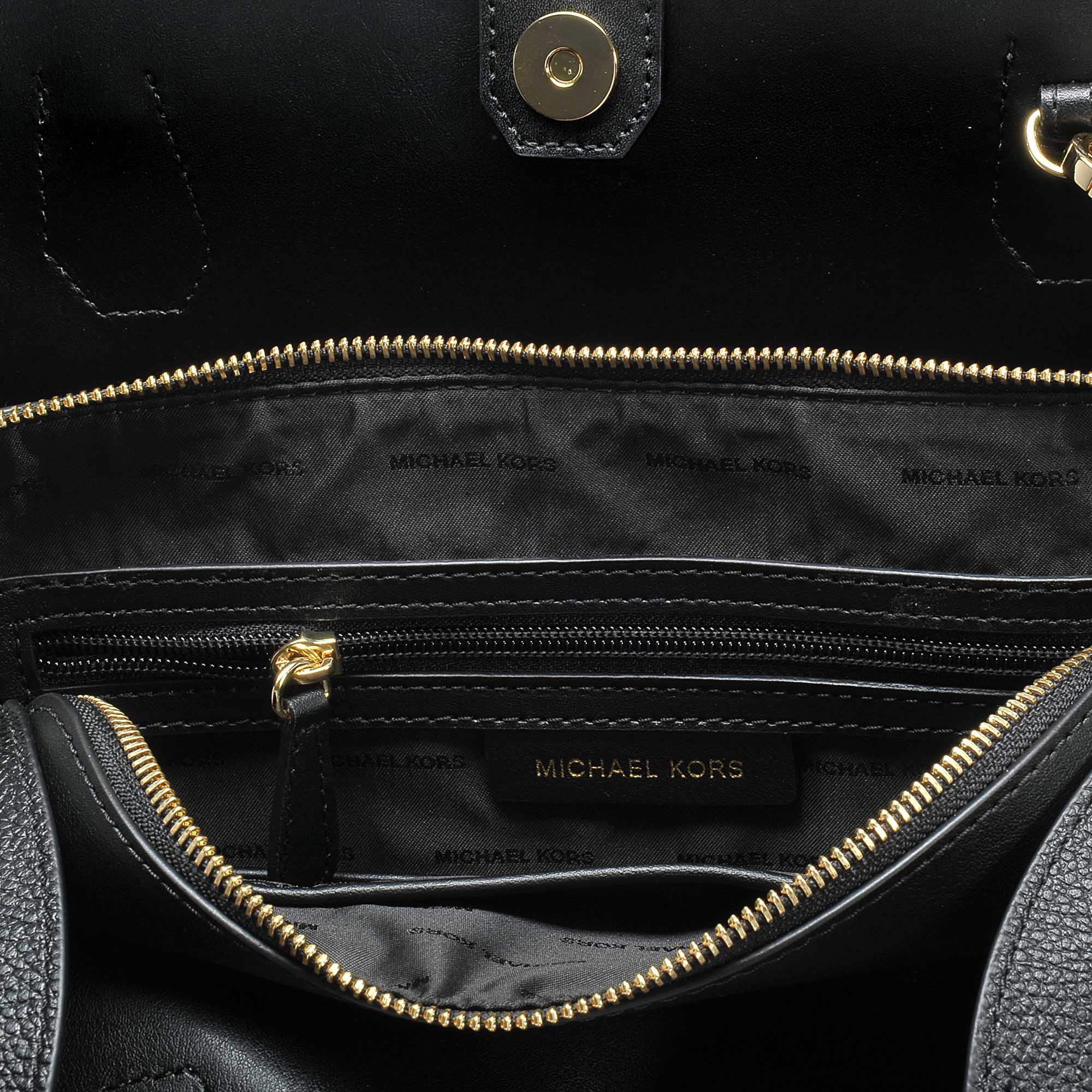 b8717a20469307 MICHAEL Michael Kors Mercer Gallery Large Leather Satchel Bag In ...