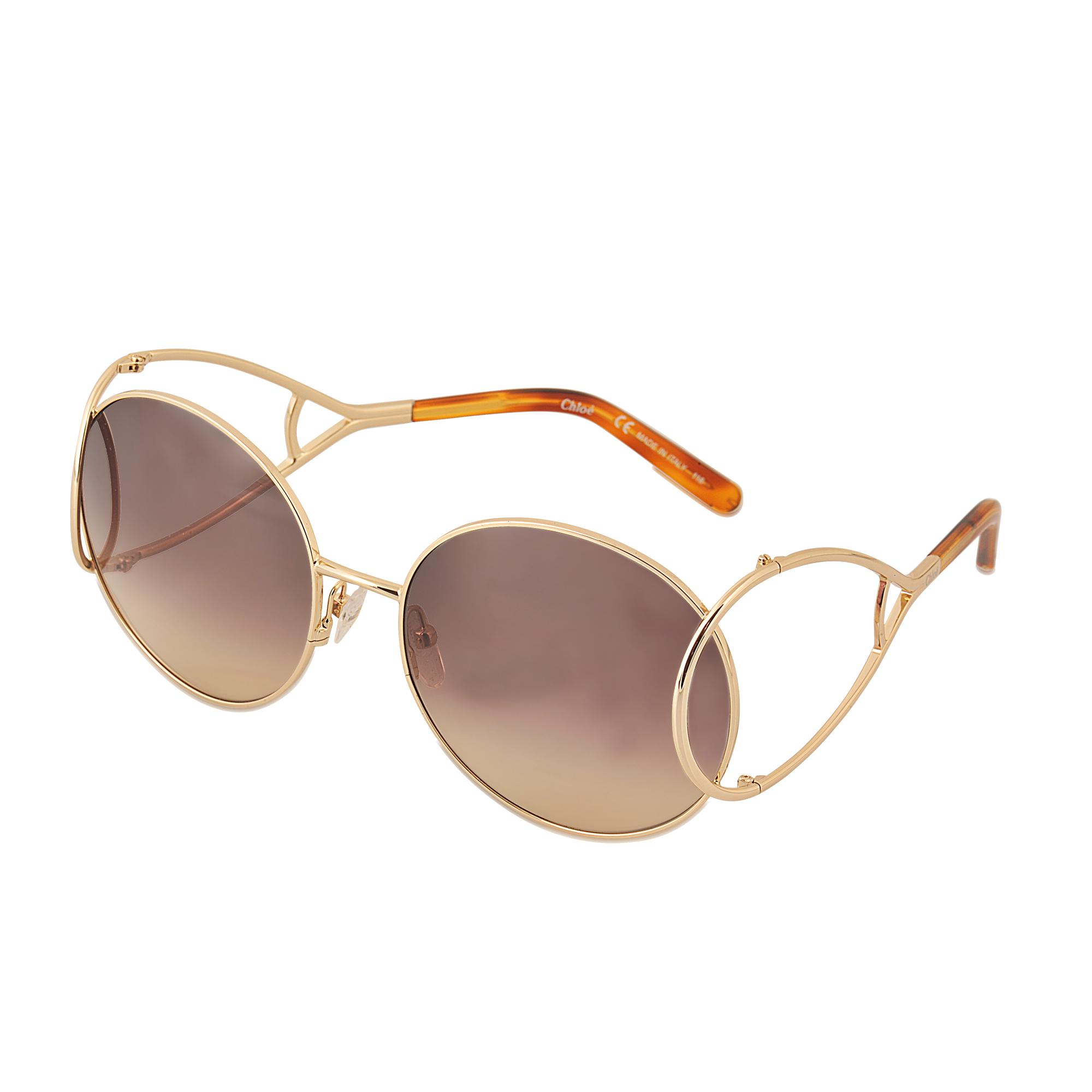 219ad765613 Chloé Ce124s Jackson Sunglasses in Brown - Lyst