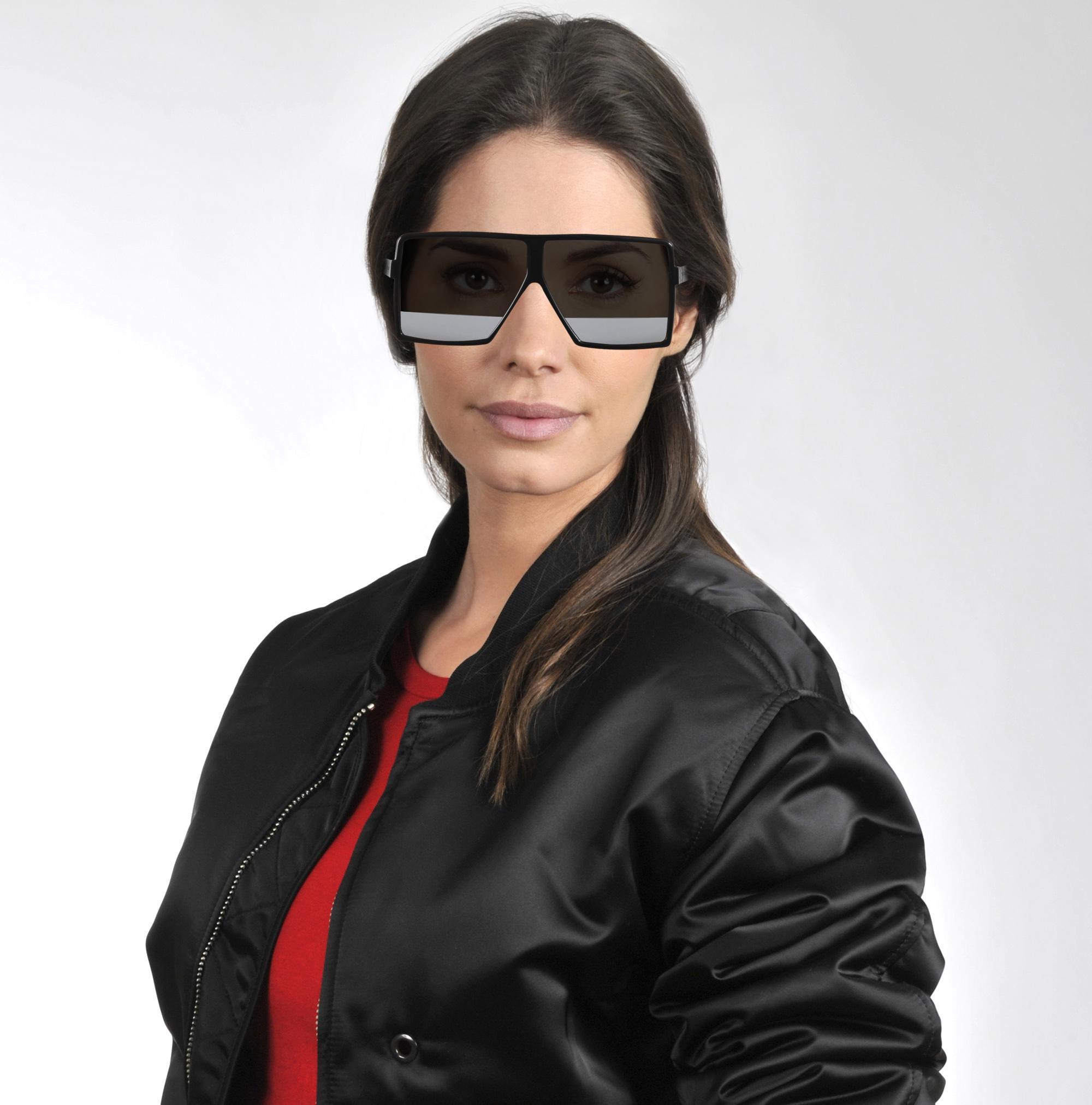 bb5e562ec5d Lyst - Saint Laurent Betty Sunglasses In Black Synthetic Material