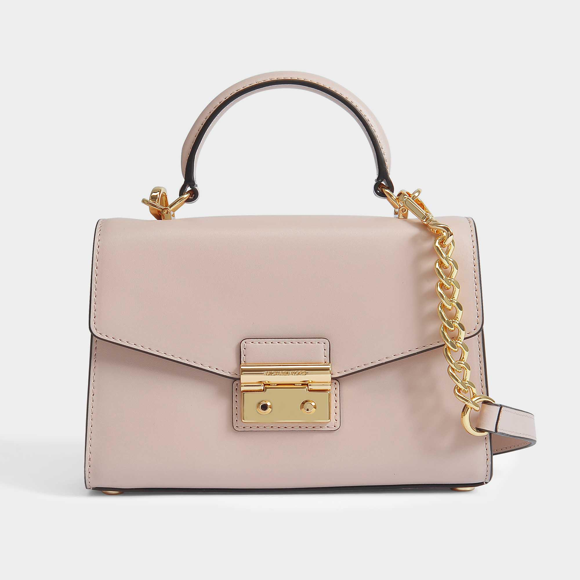 7c117ced8396 Lyst - MICHAEL Michael Kors Sloan Small Top Handle Satchel in Pink