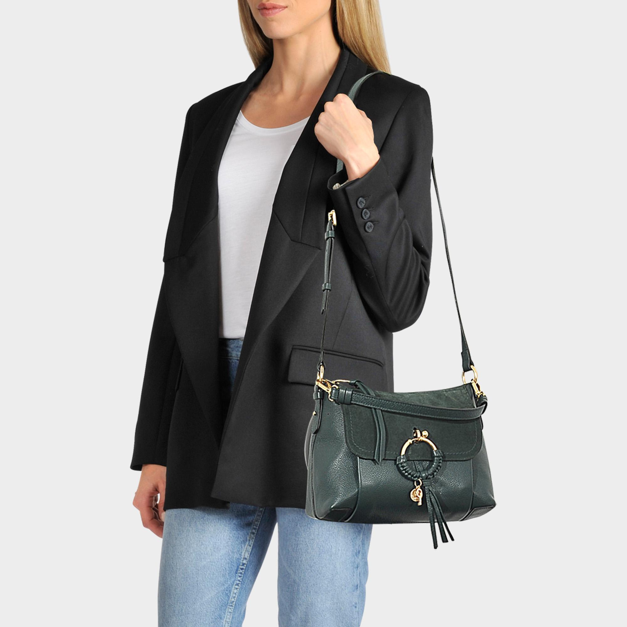 e91937e07f Lyst - See By Chloé Joan Small Crossbody in Green