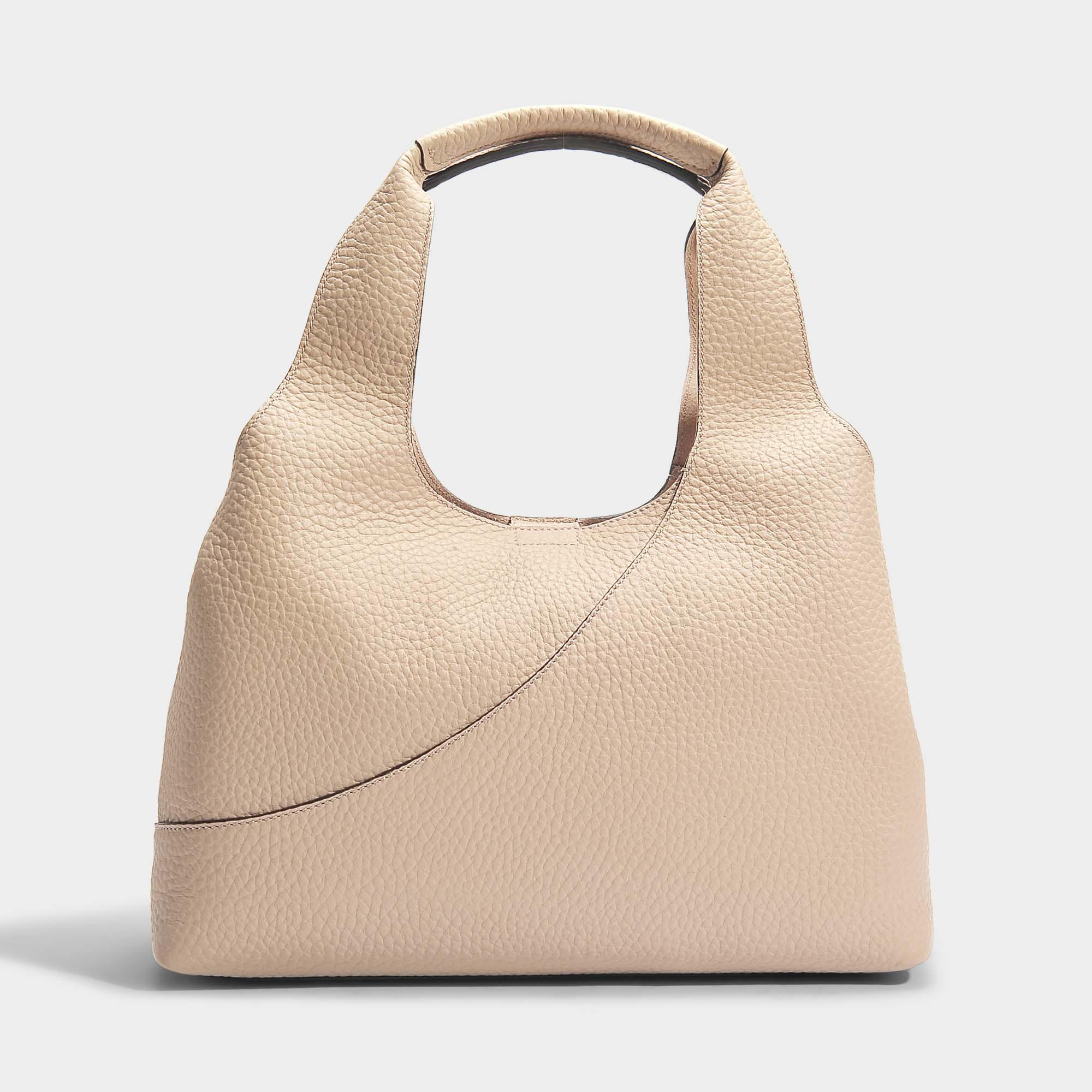 Hogan Horizontal Tote Bag in Multicolour Grained Leather XPSaH1Uos