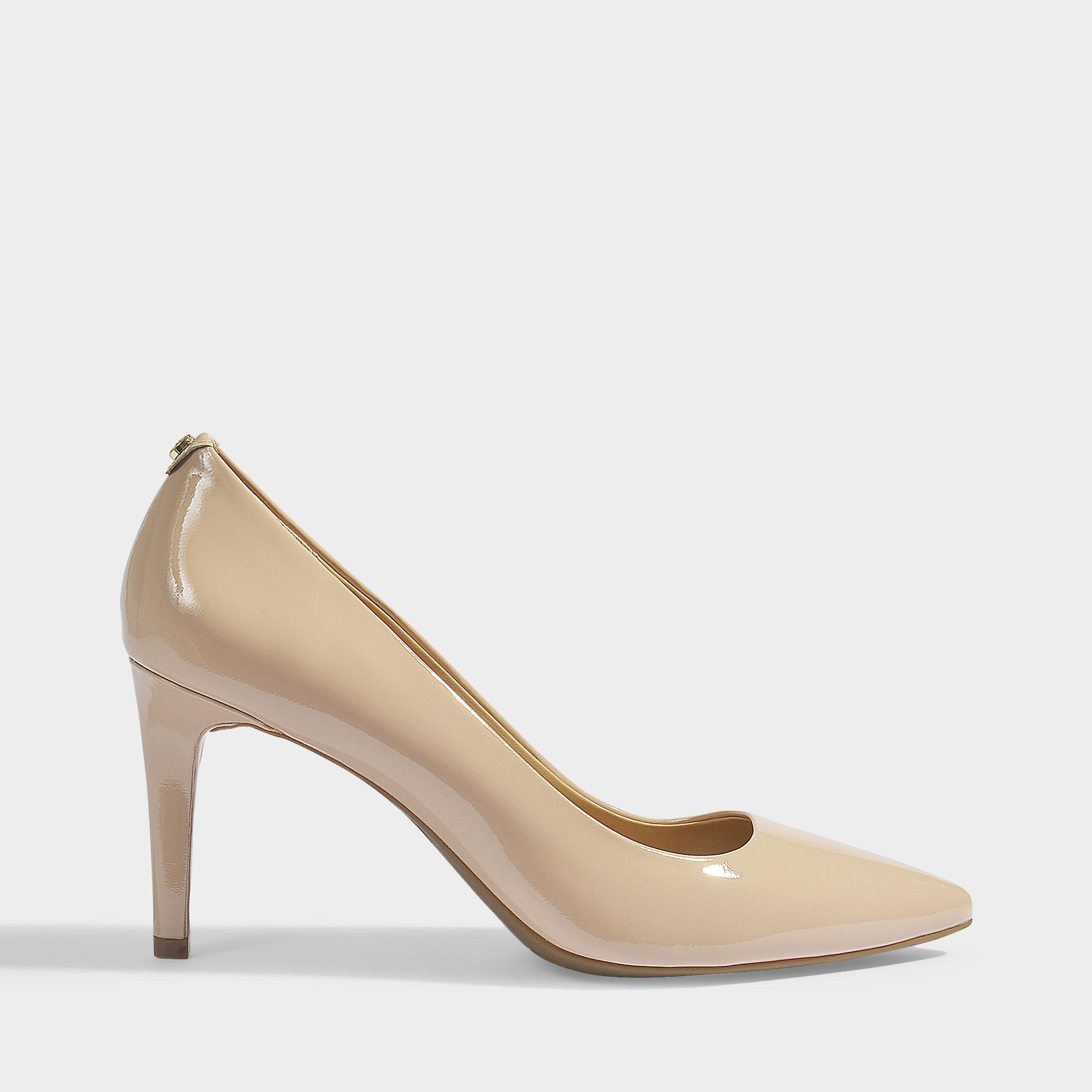 b8995545c44d MICHAEL Michael Kors. Women s Pink Dorothy Flex Pumps In Light Blush Patent  Leather