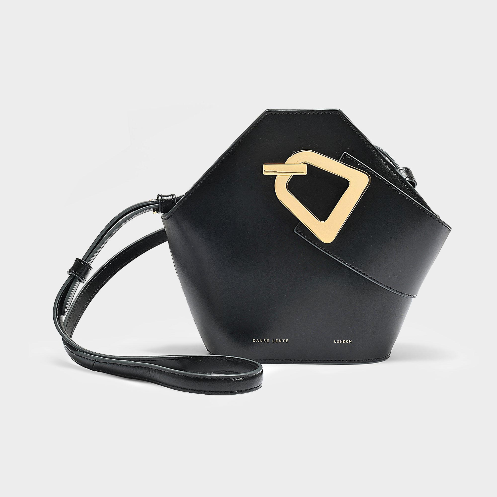 Mini Johnny Bag in Black Italian Calfskin Danse Lente ovLNkMtXUC