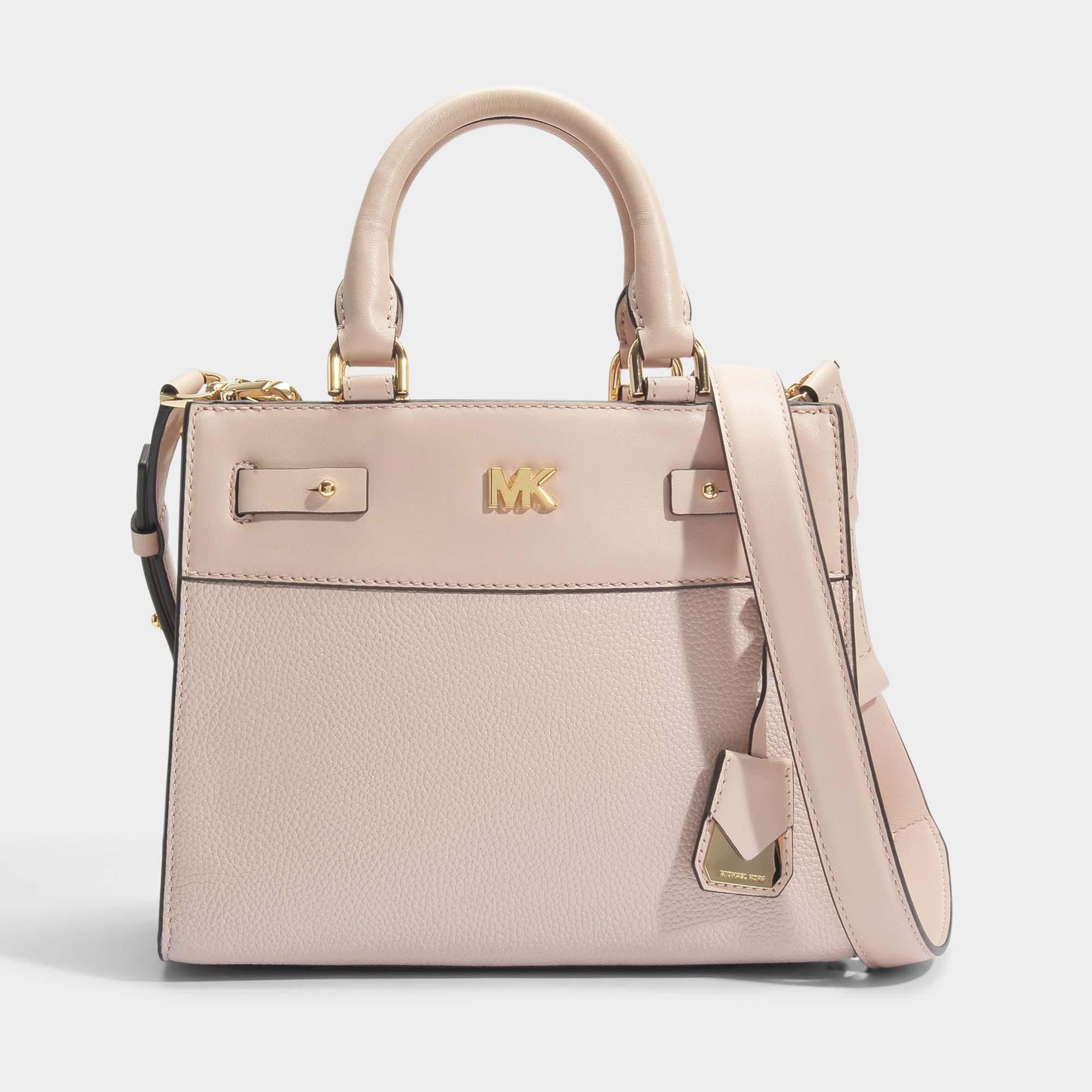 183e4b79d5aeeb MICHAEL Michael Kors Mott Uptown Mini Messenger Bag In Soft Pink ...