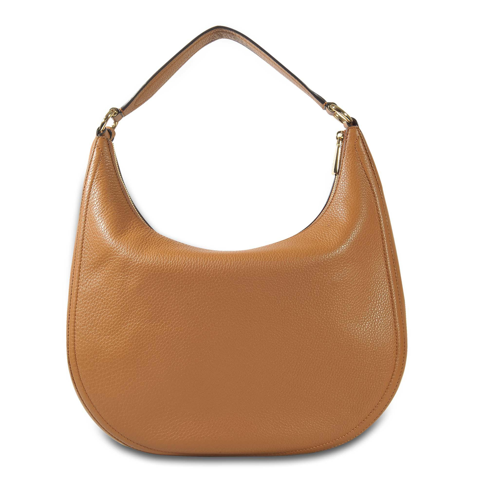 093ebc0a99 Michael Michael Kors Lydia Large Hobo Bag In Acorn Small Pebble ...