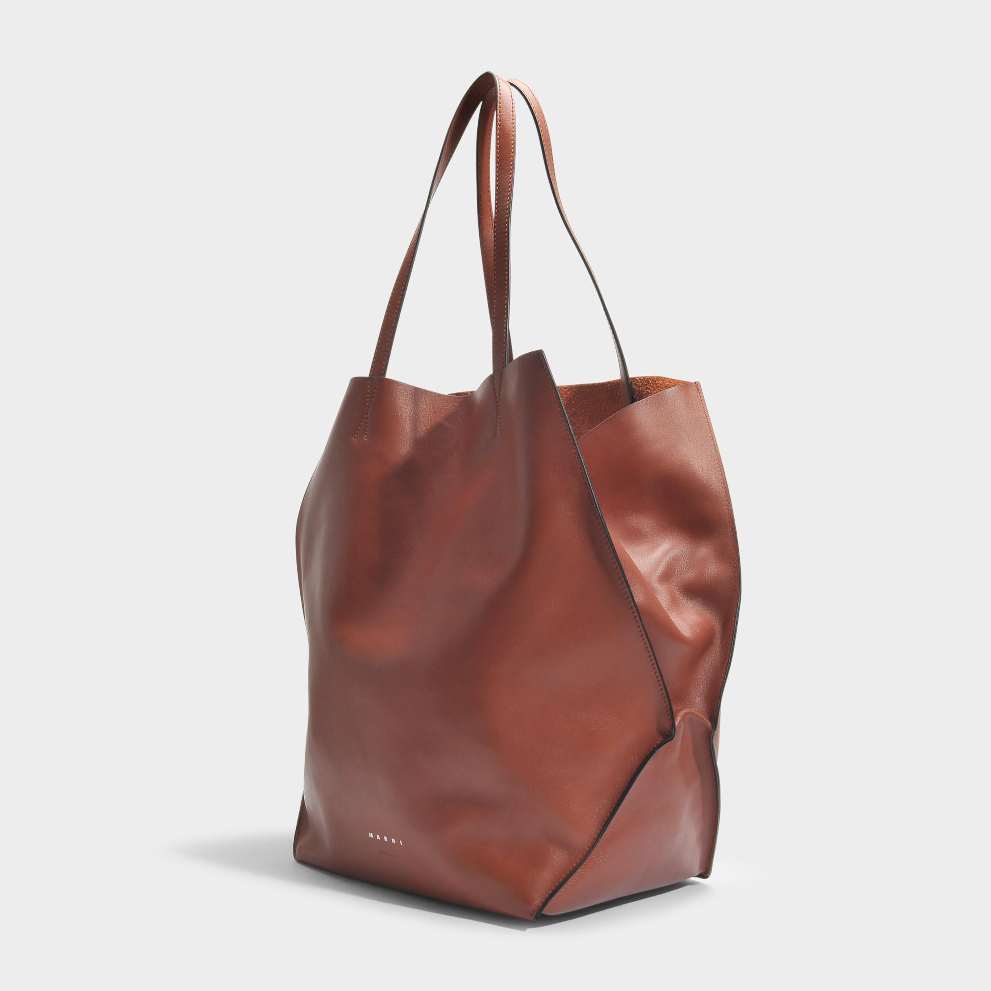 Tangram Bag in Rock Calf Marni Jh2fA