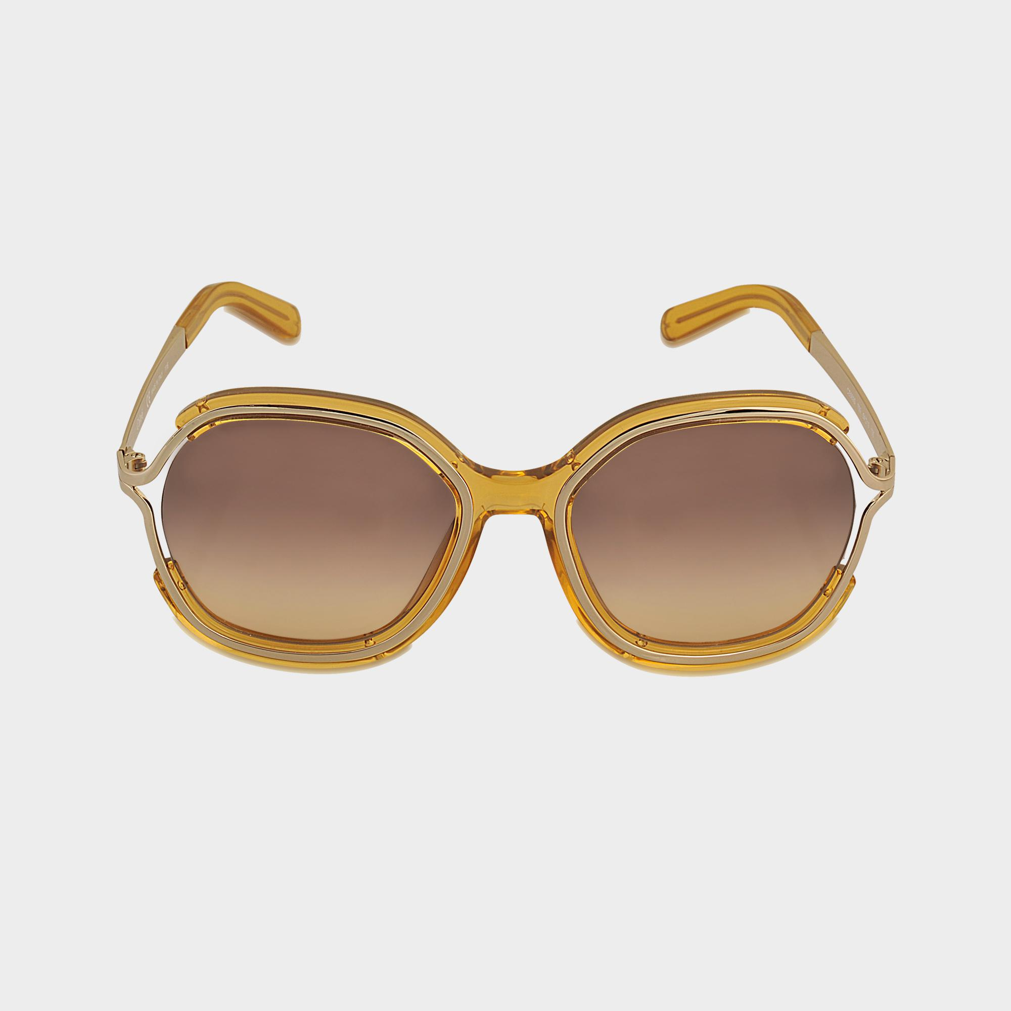 c592b177192 Chloé Ce689s Jayme Sunglasses in Yellow - Lyst