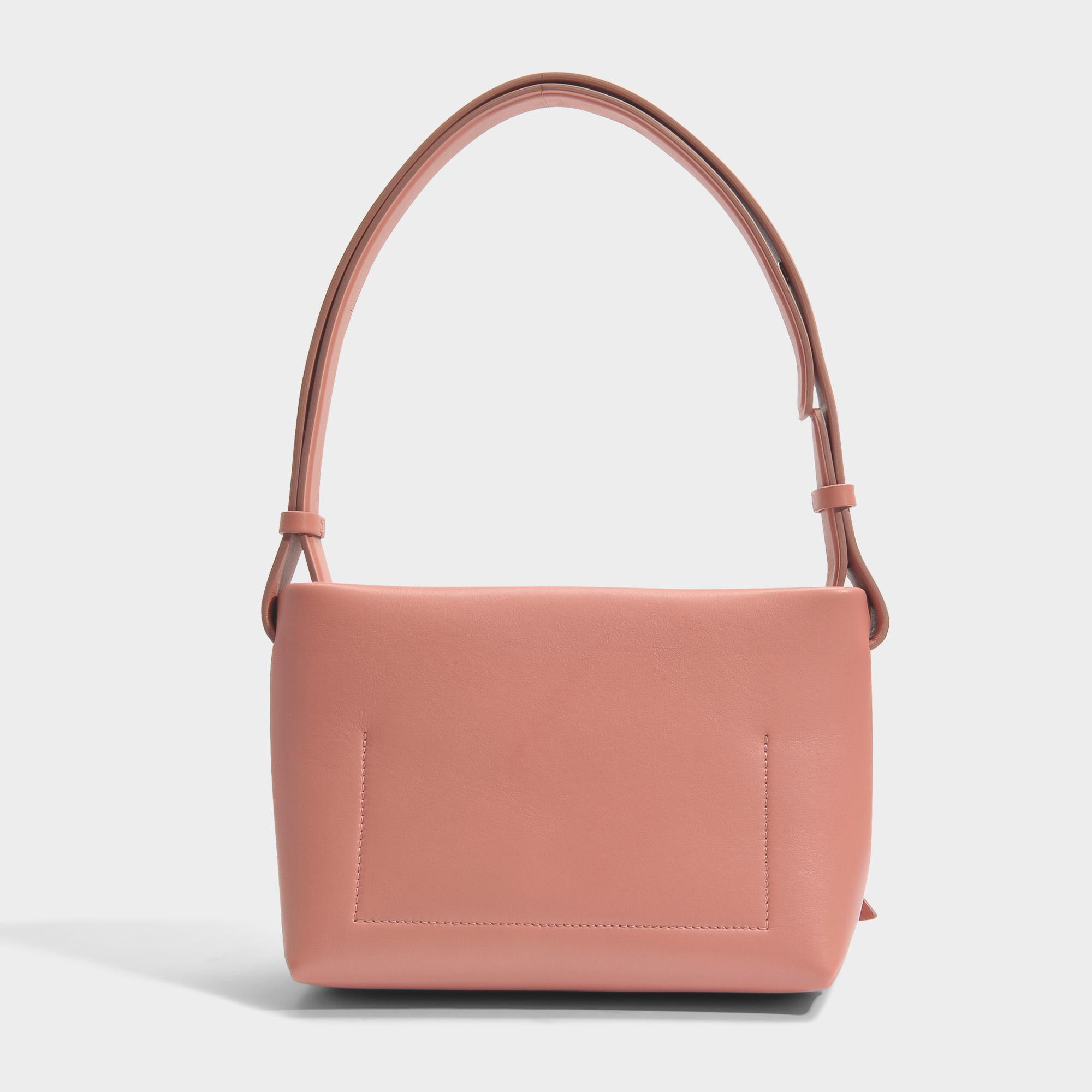 e195e032e3 Acne Studios Musubi Handbag In Pink Calf And Lamb Leather - Lyst