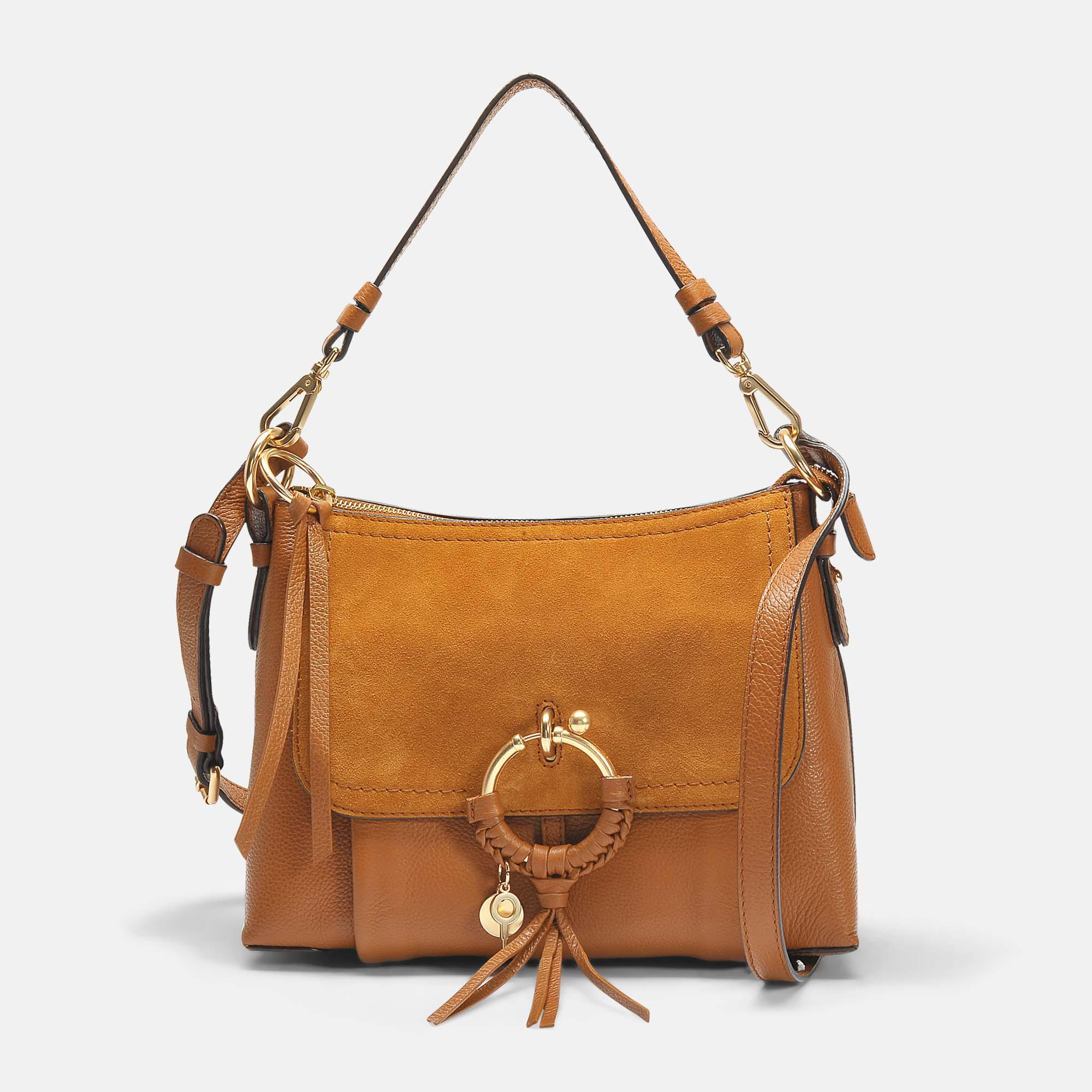 defbb128a020 Lyst - See By Chloé Joan Small Crossbody Bag In Caramelo Leather And ...