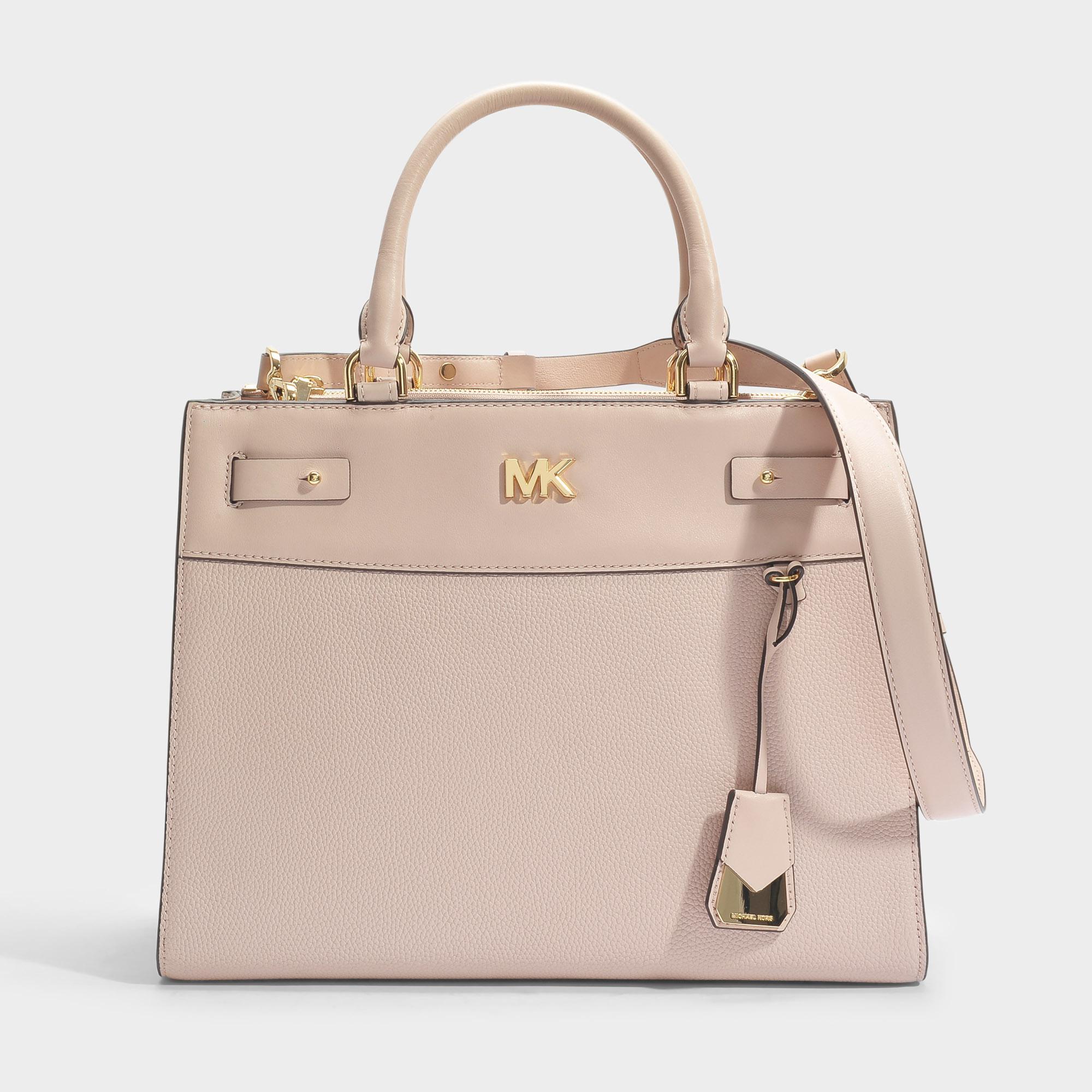 03dd92719361 Lyst - MICHAEL Michael Kors Mott Uptown Large Satchel Bag In Soft ...