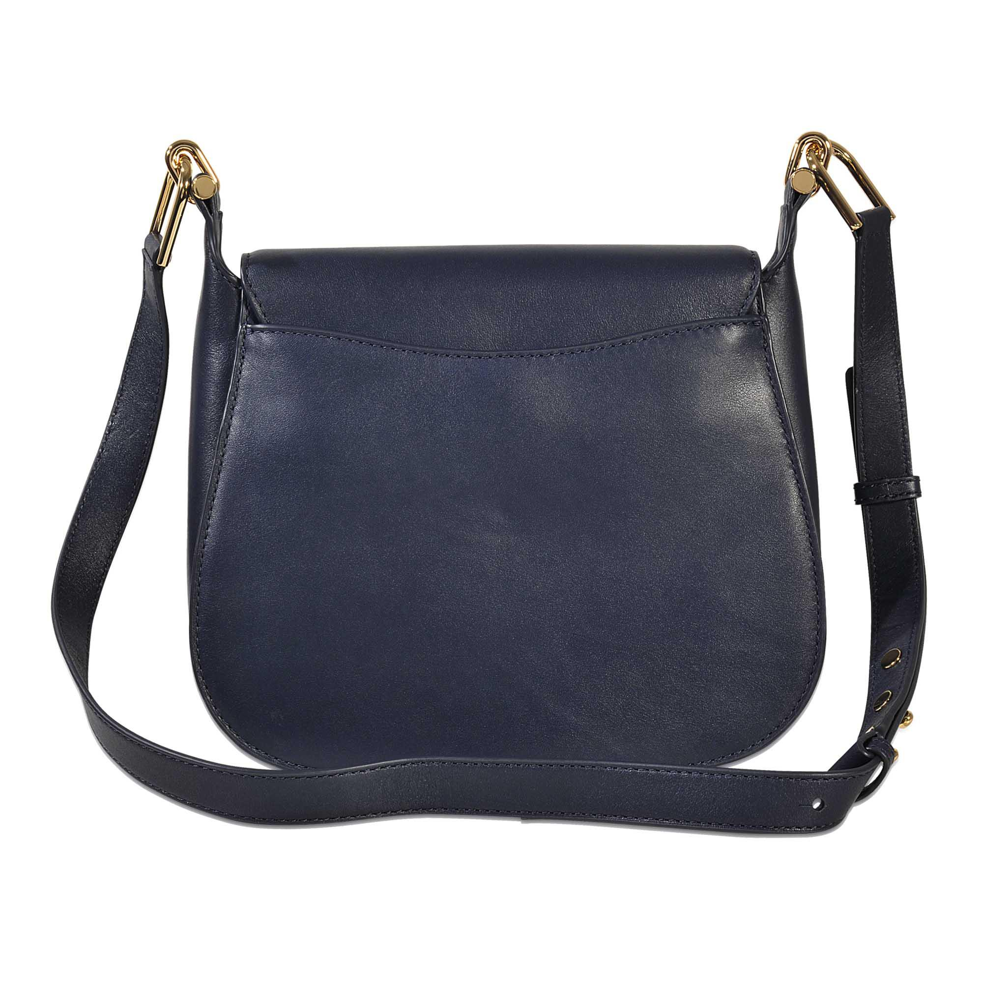 dbfb38ce0a57 Lyst - MICHAEL Michael Kors Delfina Large Saddle Bag in Blue