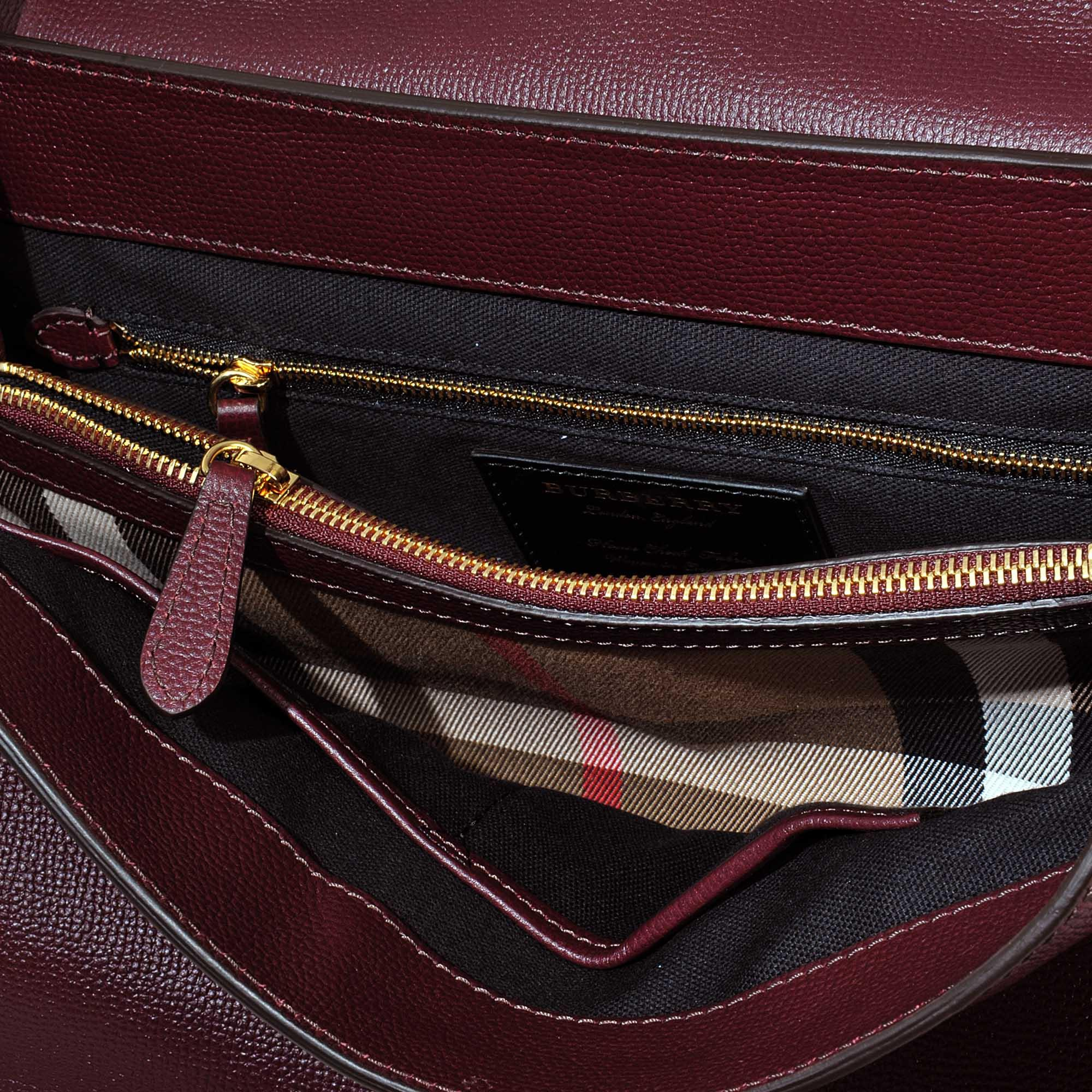 Lyst Burberry Camberley Medium Bag In Red