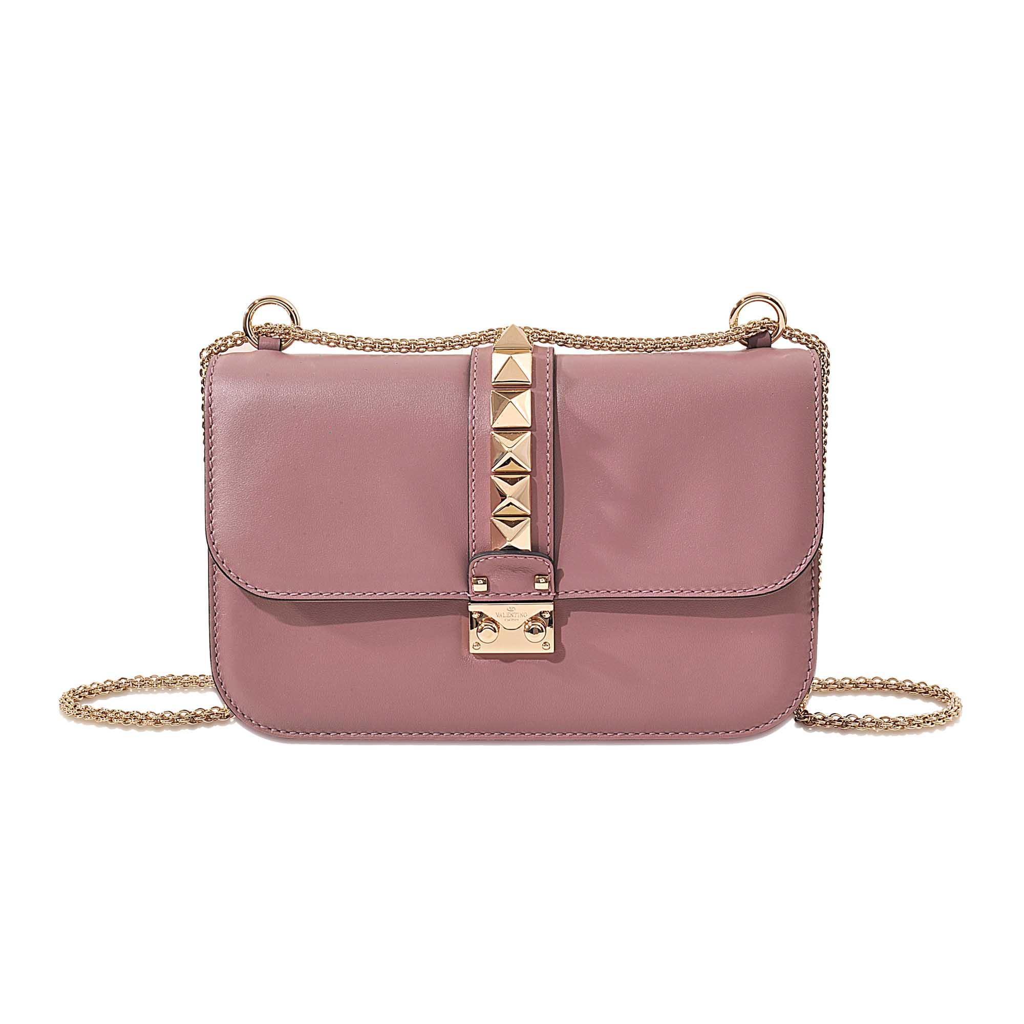 valentino lock medium shoulder bag in multicolour lyst. Black Bedroom Furniture Sets. Home Design Ideas