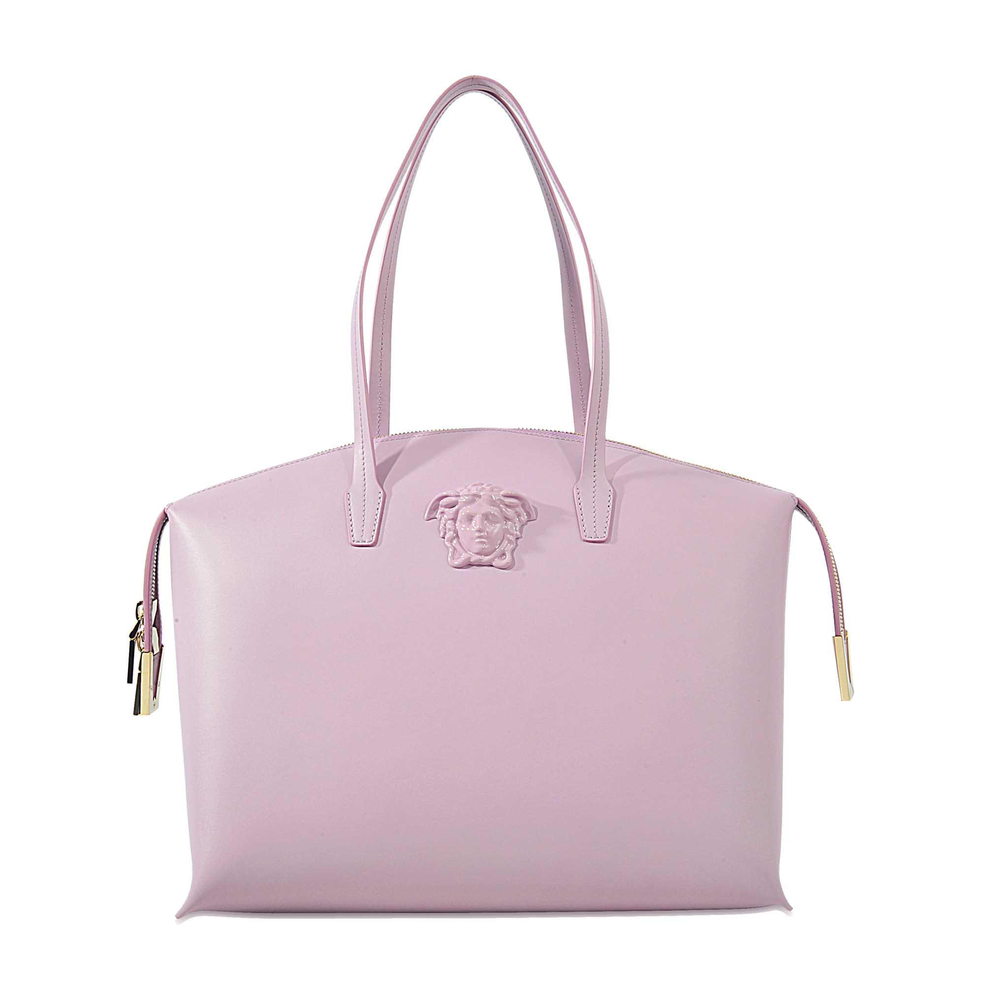044aaa9b49fe Lyst - Versace Vitello Tote Bag Saffiano in Purple