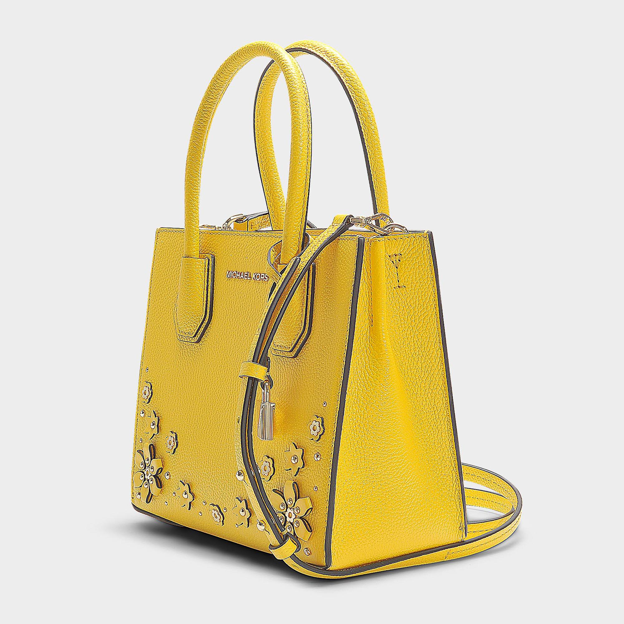 9af0301485db MICHAEL Michael Kors Mercer Medium Messenger Bag In Sunflower ...
