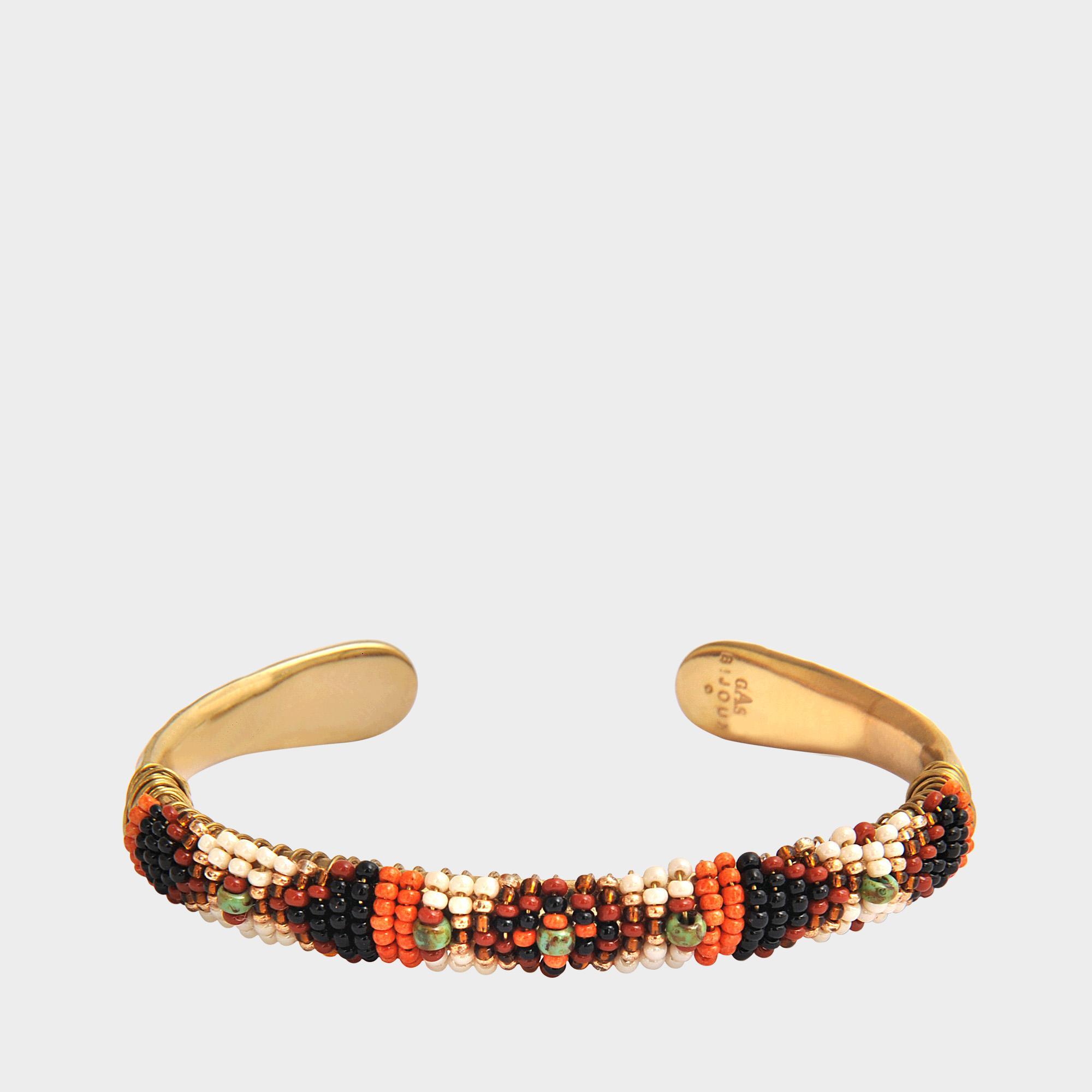 Gas Bijoux Massai bracelet - Brown EyFFxE4u