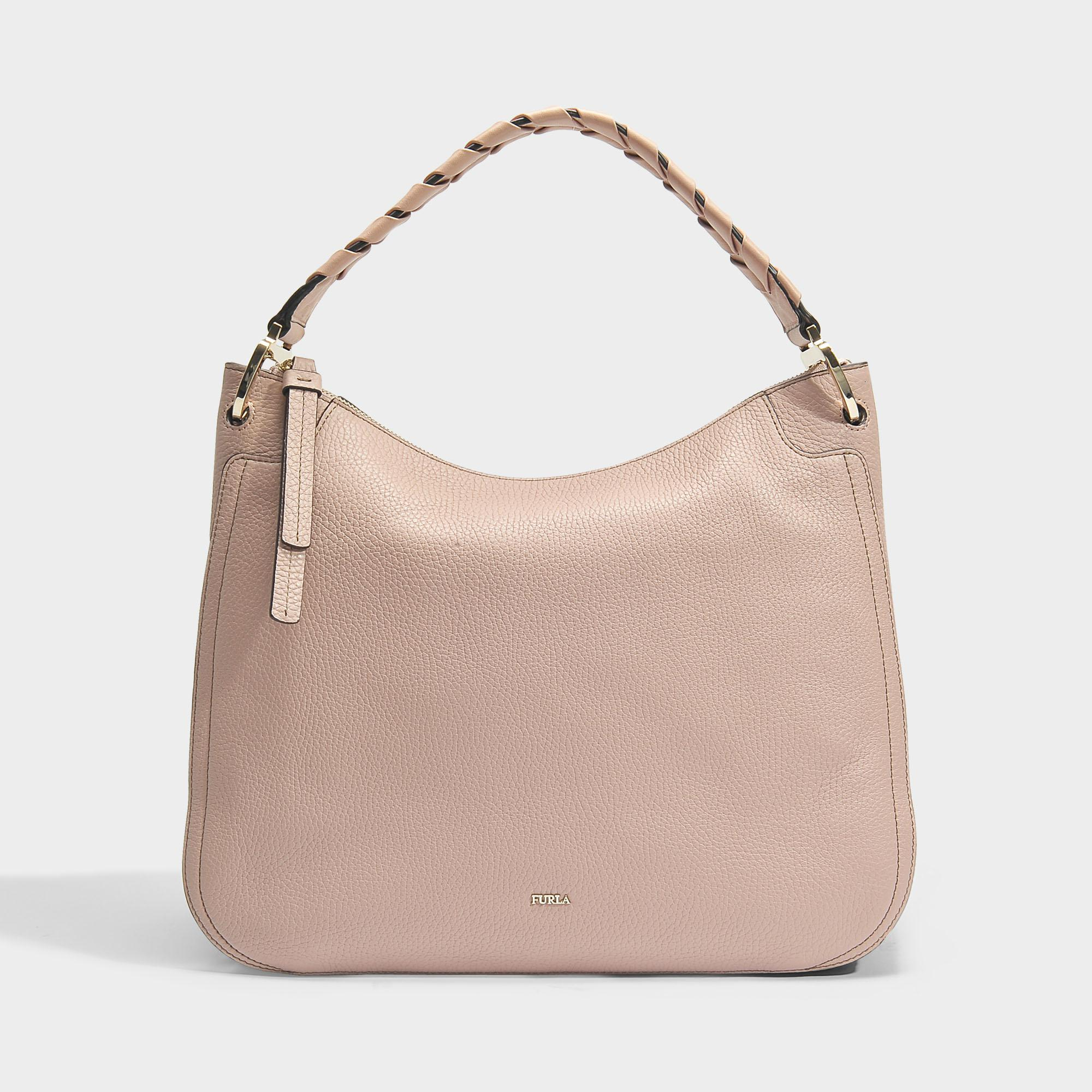 Clearance Purchase Rialto Large Hobo Bag in Sabbia Calfskin Furla Cheap Sale Official Free Shipping Enjoy Cheap Discount Sale Extremely For Sale NxGilnz