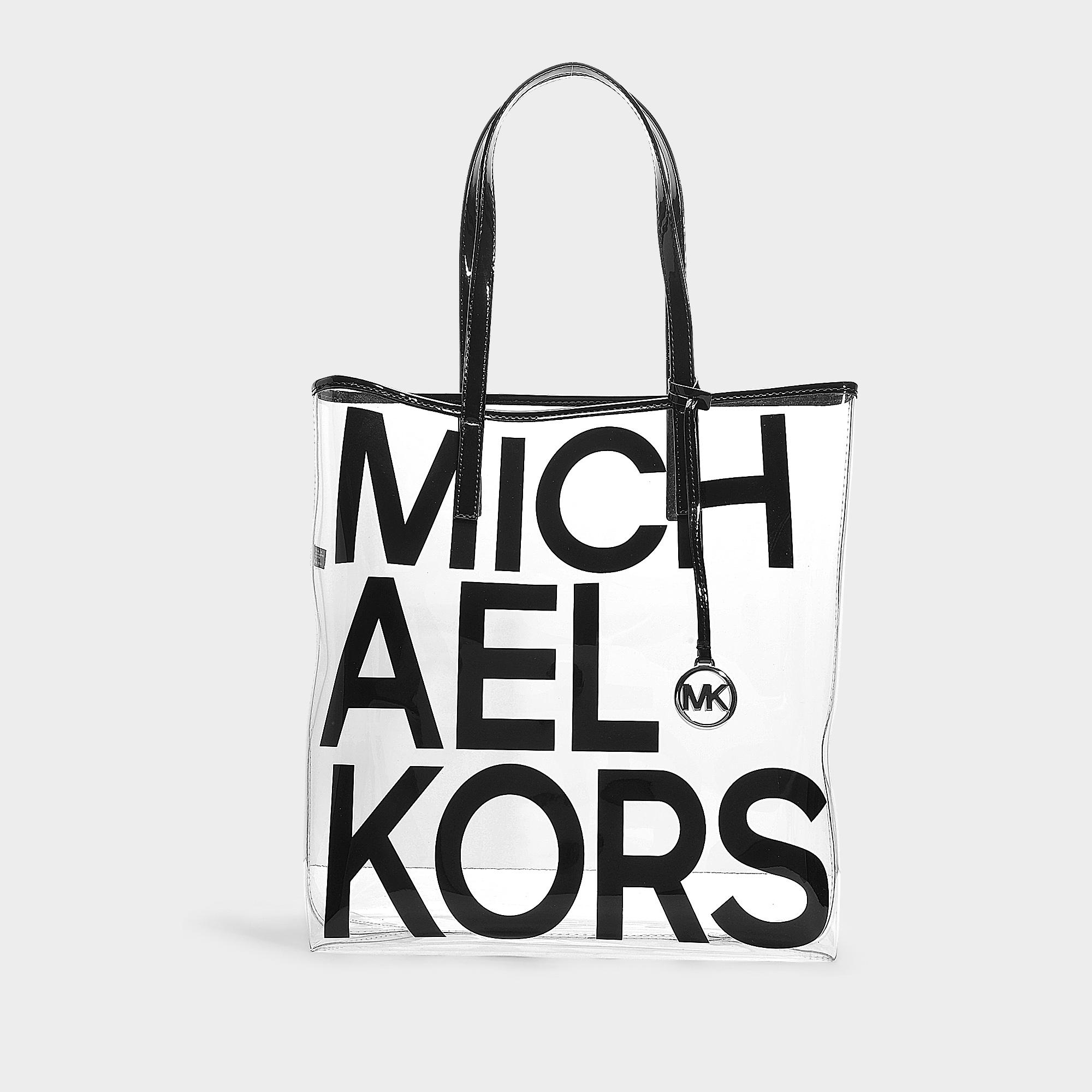 74663be76529a1 Michael Kors. Women's Black Michael The Michael Bag Large North South Tote