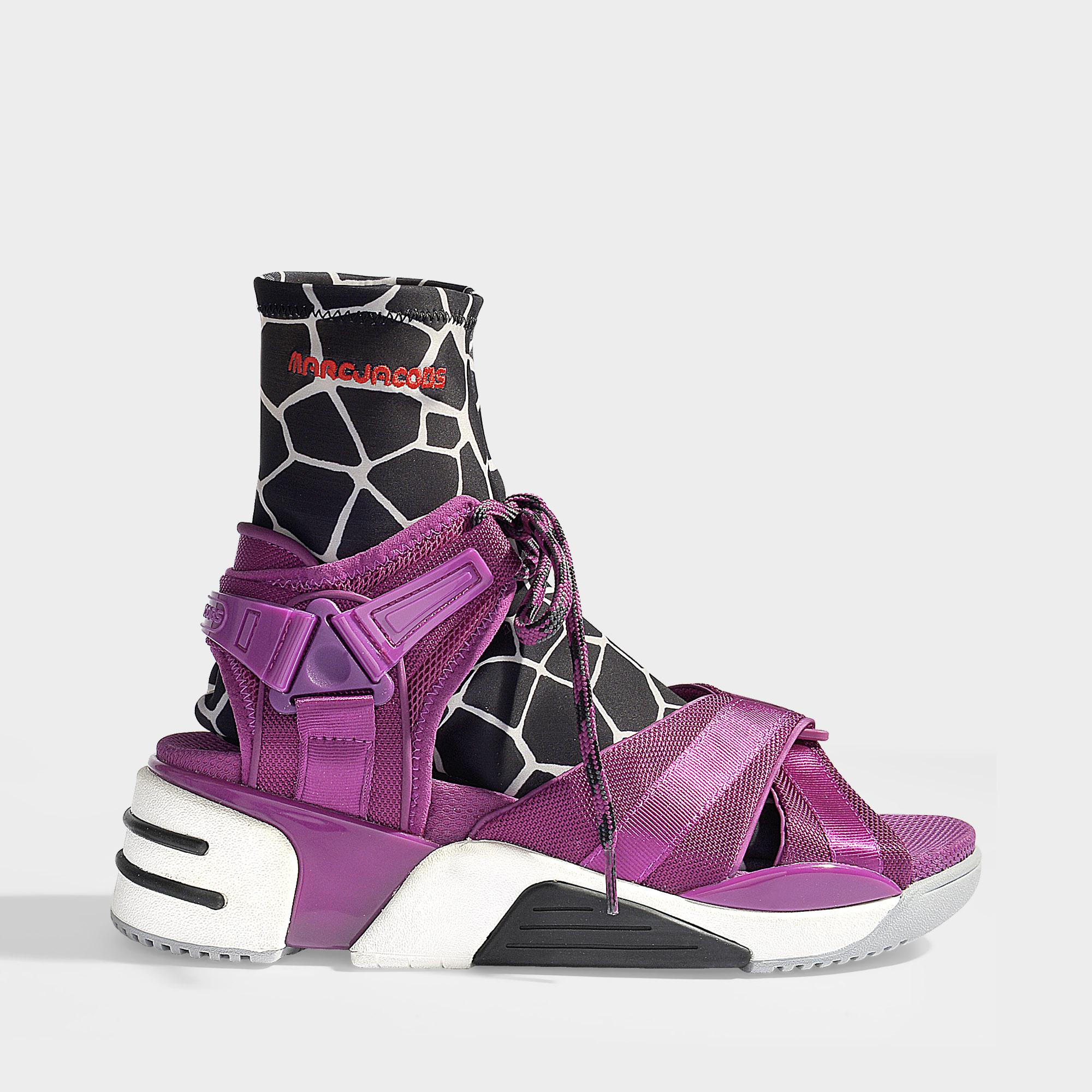 Jacobs Sneakers Lyst Somewhere In Polyester Marc Rhubarb Rw5pt