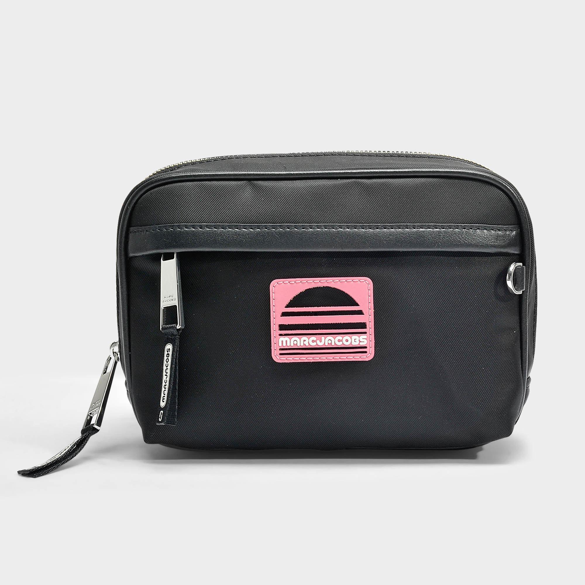 0ac63b10f7a5 Marc Jacobs Sport Belt Bag In Black Polyester in Black - Lyst