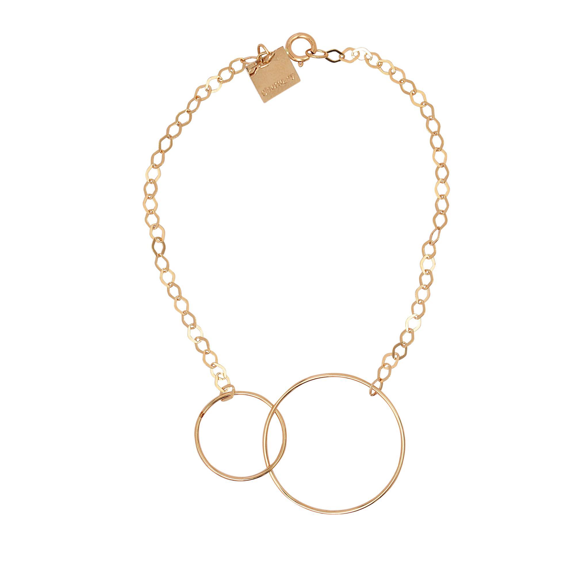 Ginette NY Fusion 18-karat rose gold bracelet av95d