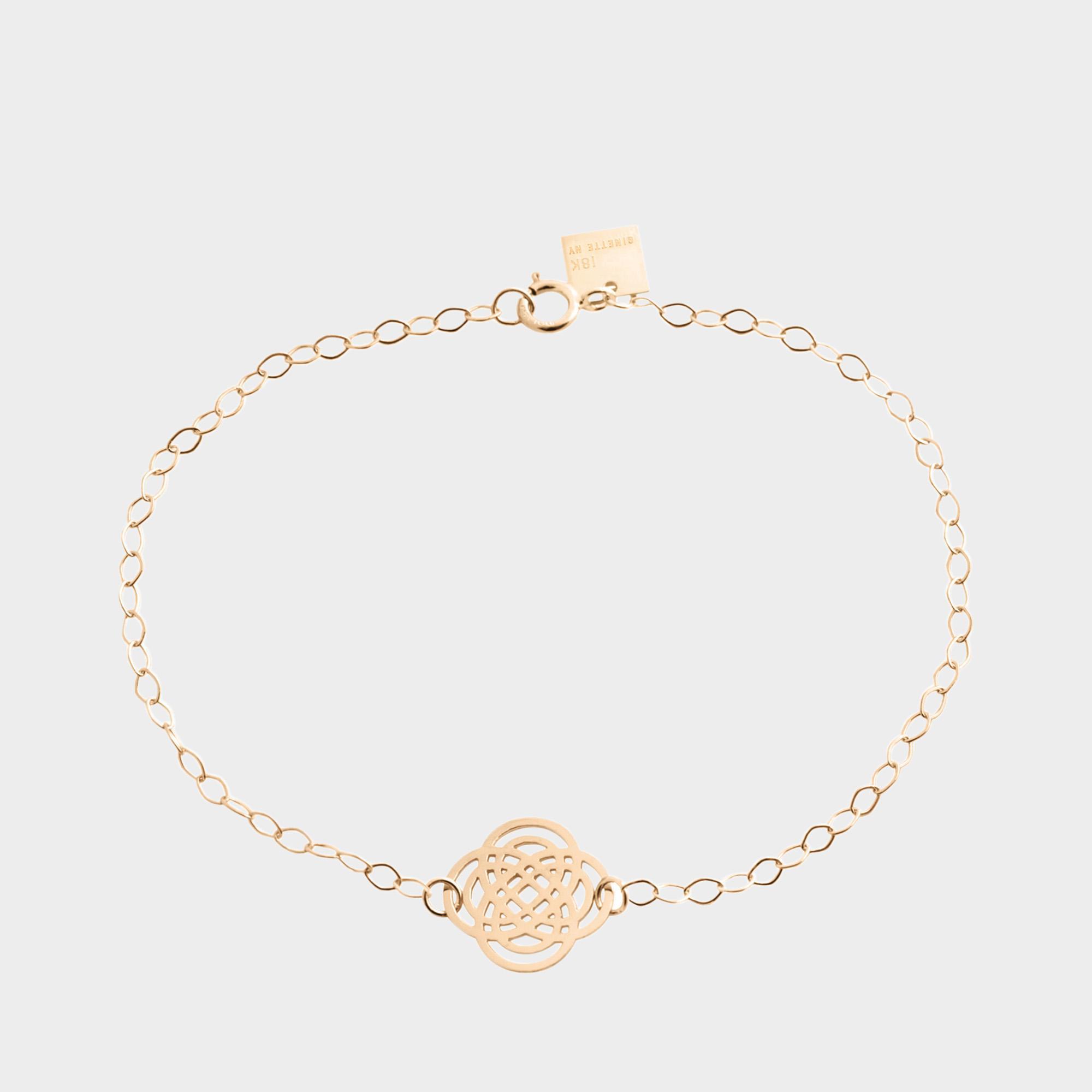 Ginette NY Purity 18-karat rose gold bracelet hBOqEv