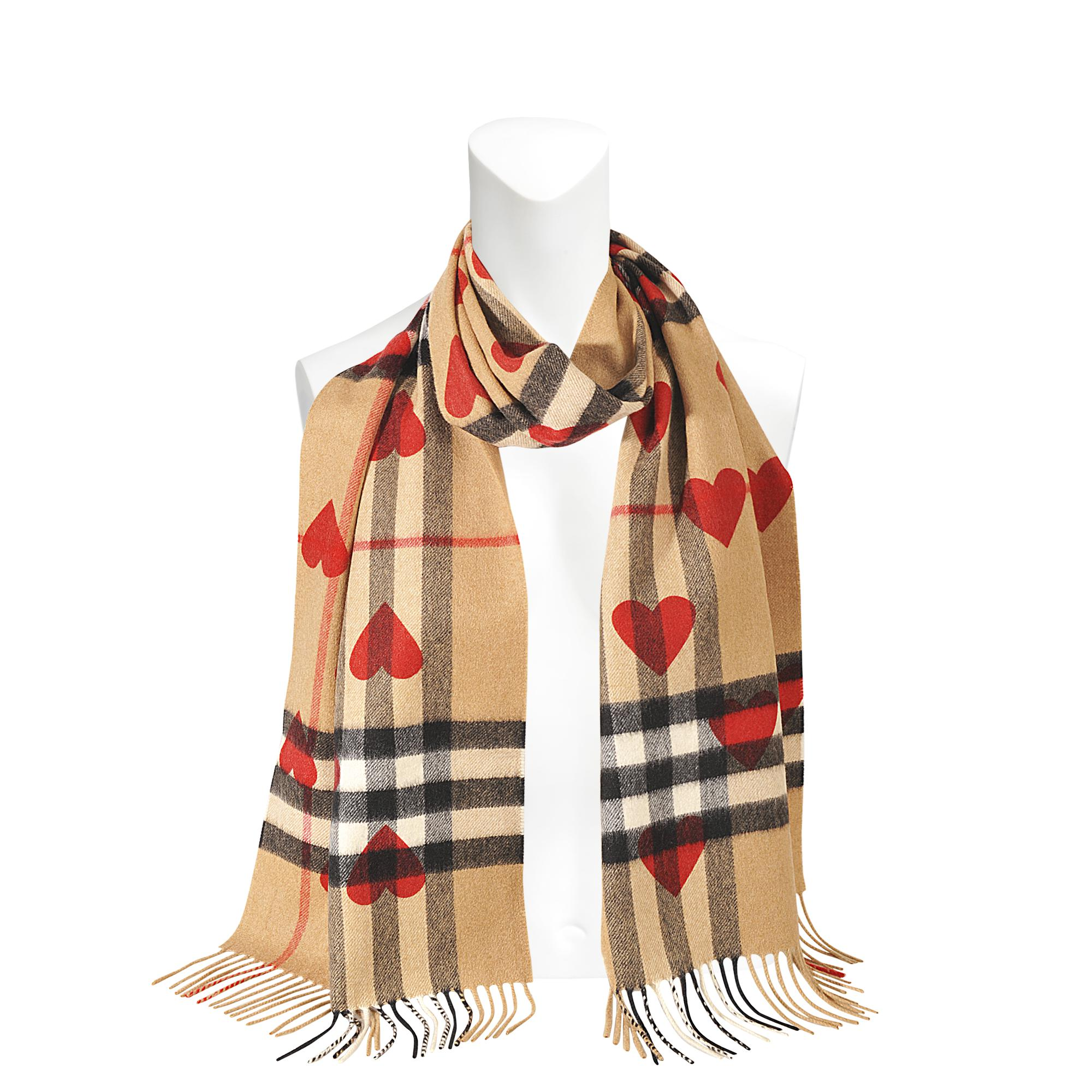 168X30 Classic Check Cashmere Scarf in Camel Cashmere Burberry Ost Release Dates New Online Extremely Cheap Price Best Seller Cheap Online MsmT6saM
