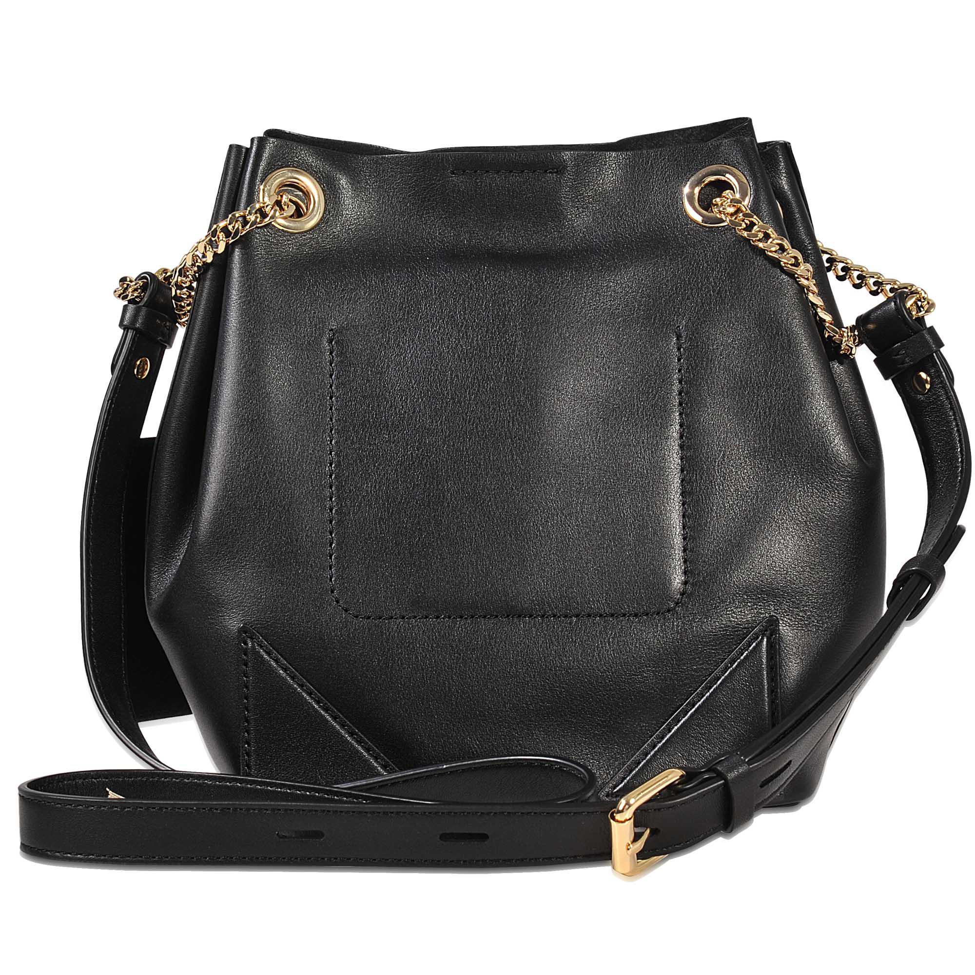 5169b17f68 Lyst - Karl Lagerfeld K Slouchy Drawstring Bag in Black