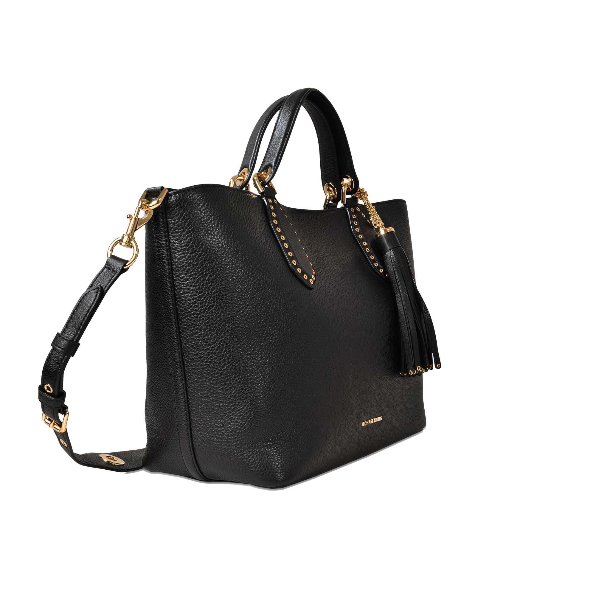 e3def551541a Lyst - MICHAEL Michael Kors Brooklyn Large Grab Bag in Black