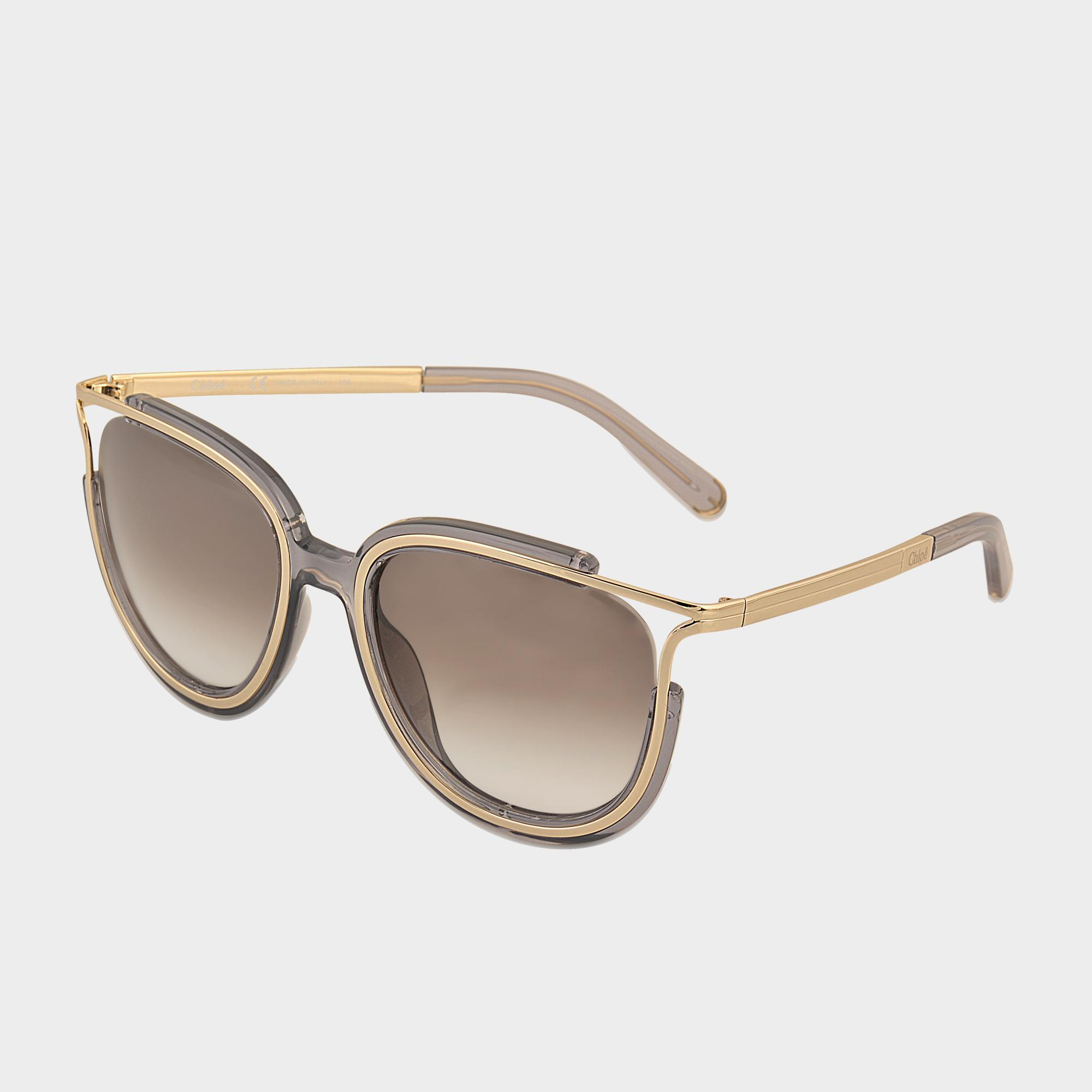 b5396610284 Chloé Ce688s Jayme Sunglasses in Gray - Lyst