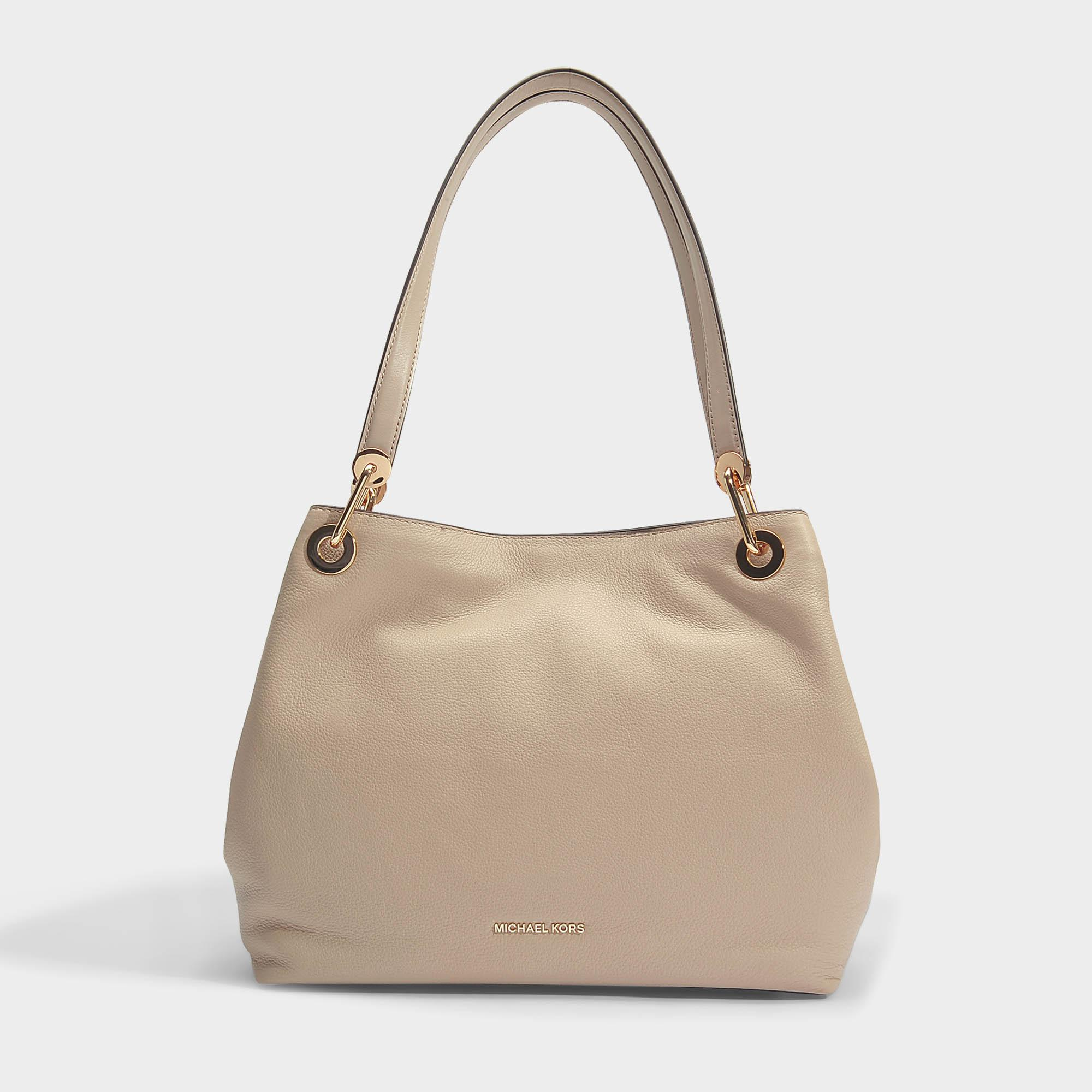 157e33ee9a15 MICHAEL Michael Kors Raven Large Shoulder Tote Bag In Oat Small ...