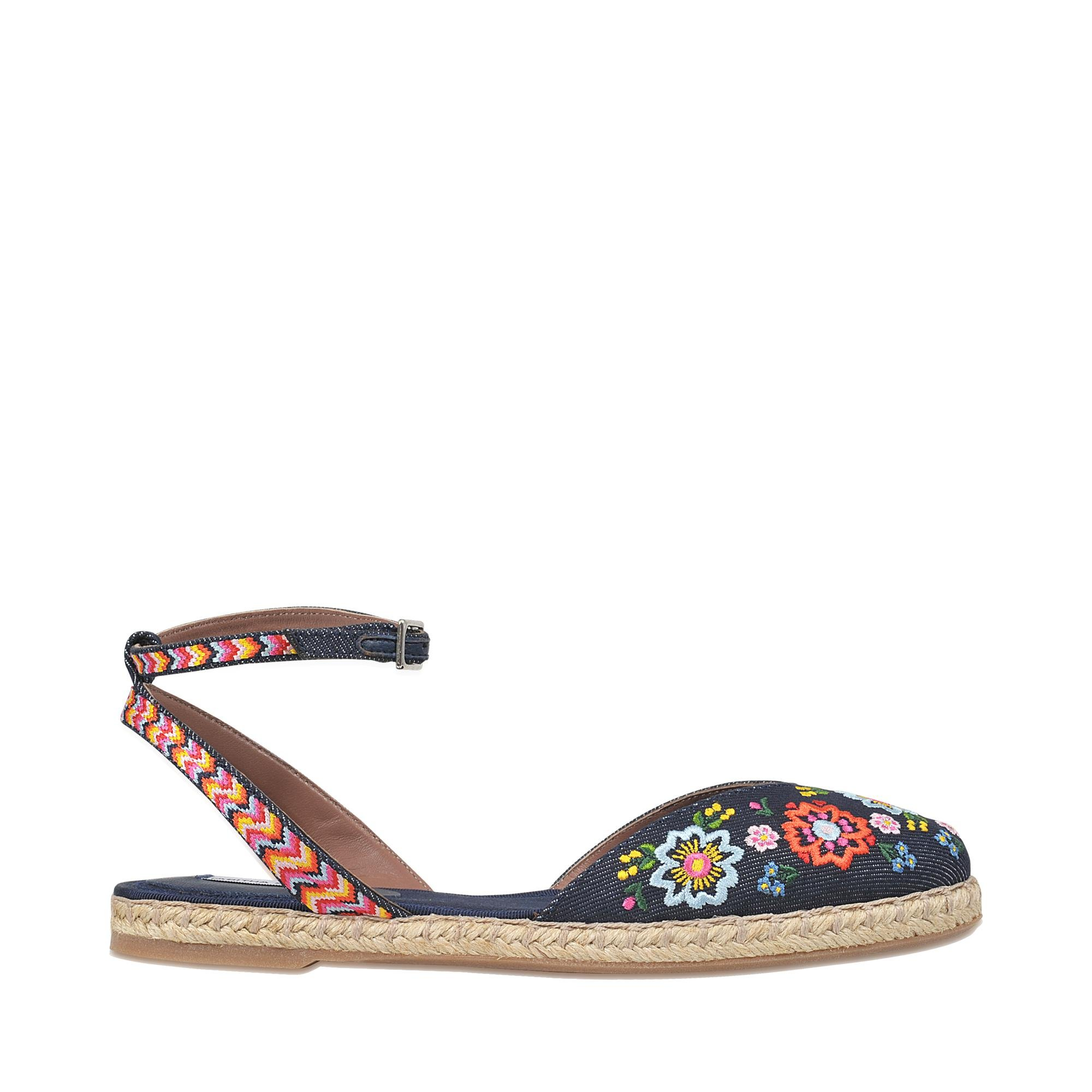 Dotty festival floral espadrille Tabitha Simmons Buy Cheap Big Discount How Much Cheap Price Outlet Sale Online IB5j5cWoE
