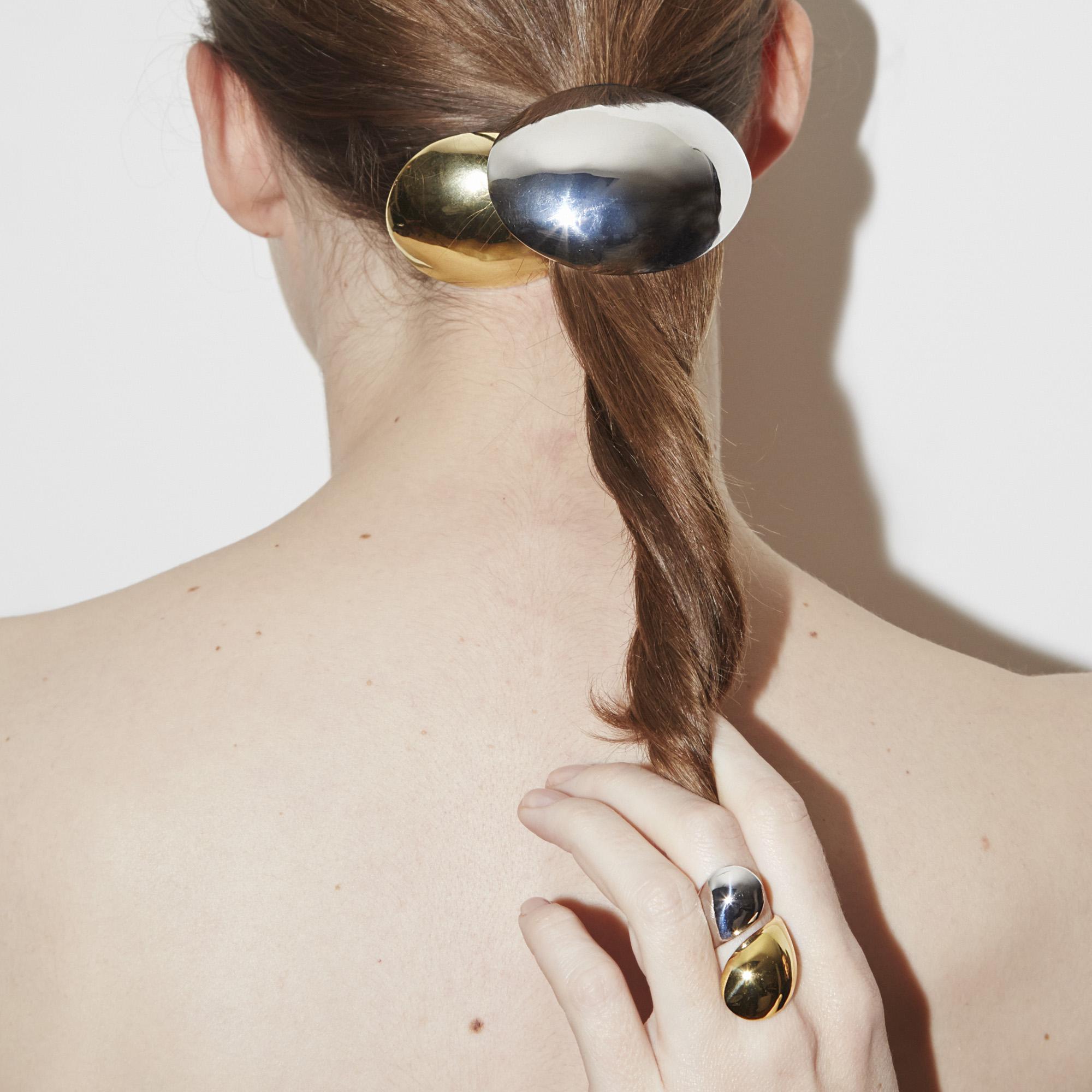 Charlotte Chesnais Small egg hair clip GZyOMtQ